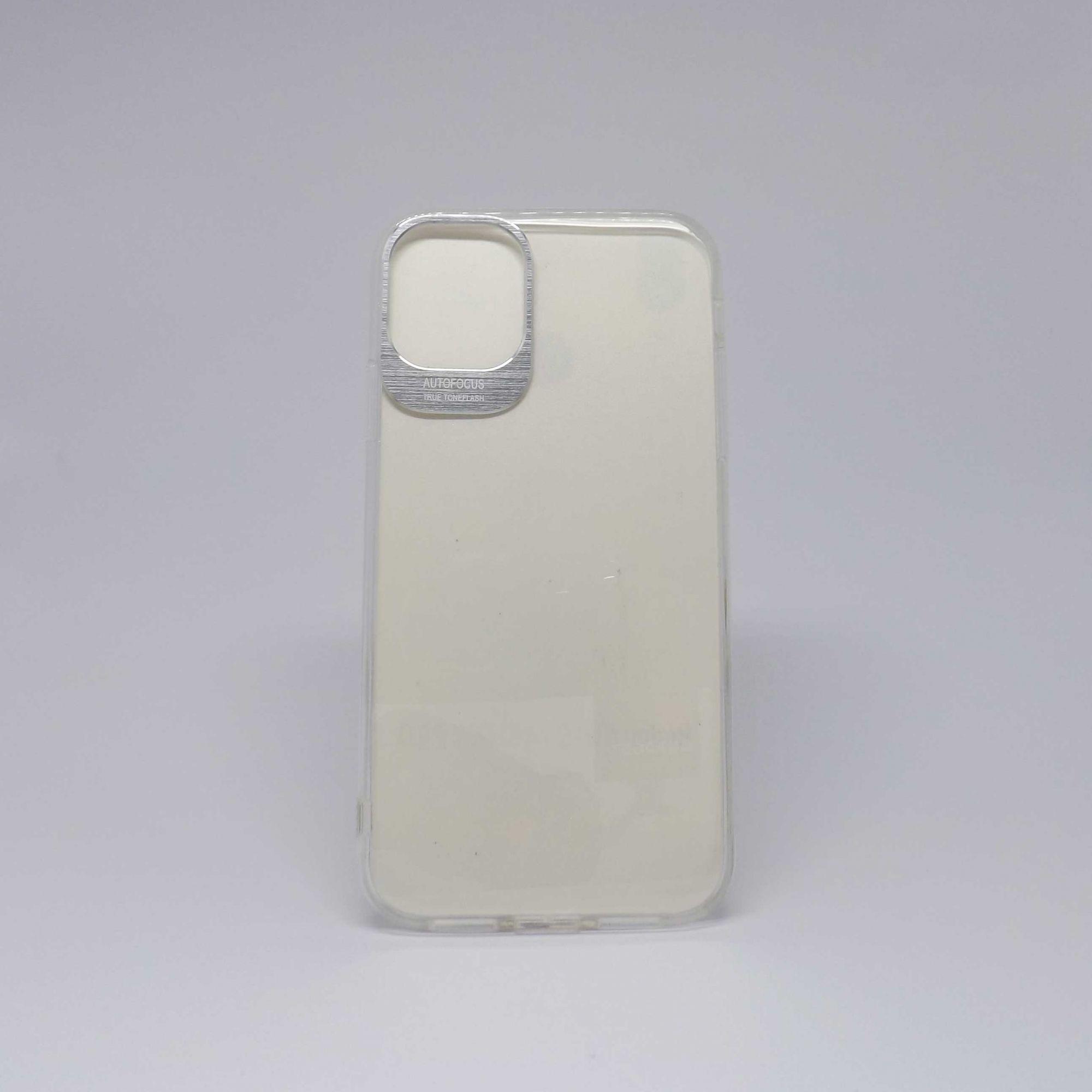 Capa Iphone 11 Antiqueda Transparente Com Borda Colorida