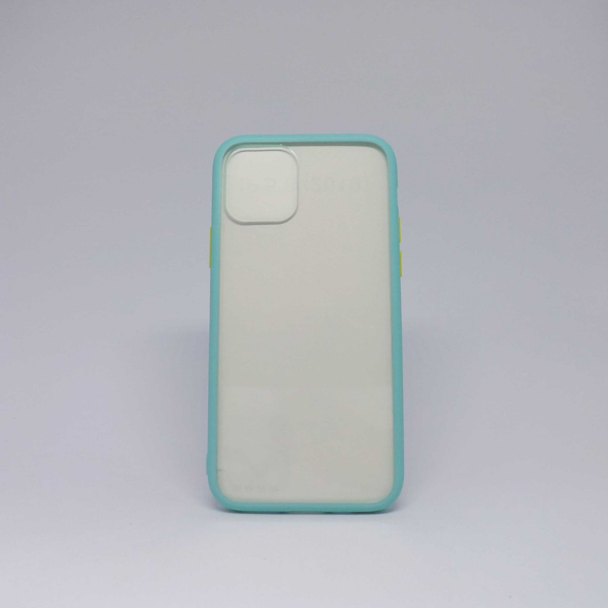 Capa iPhone 11 Pro Antiqueda Transparente  Com Borda Colorida