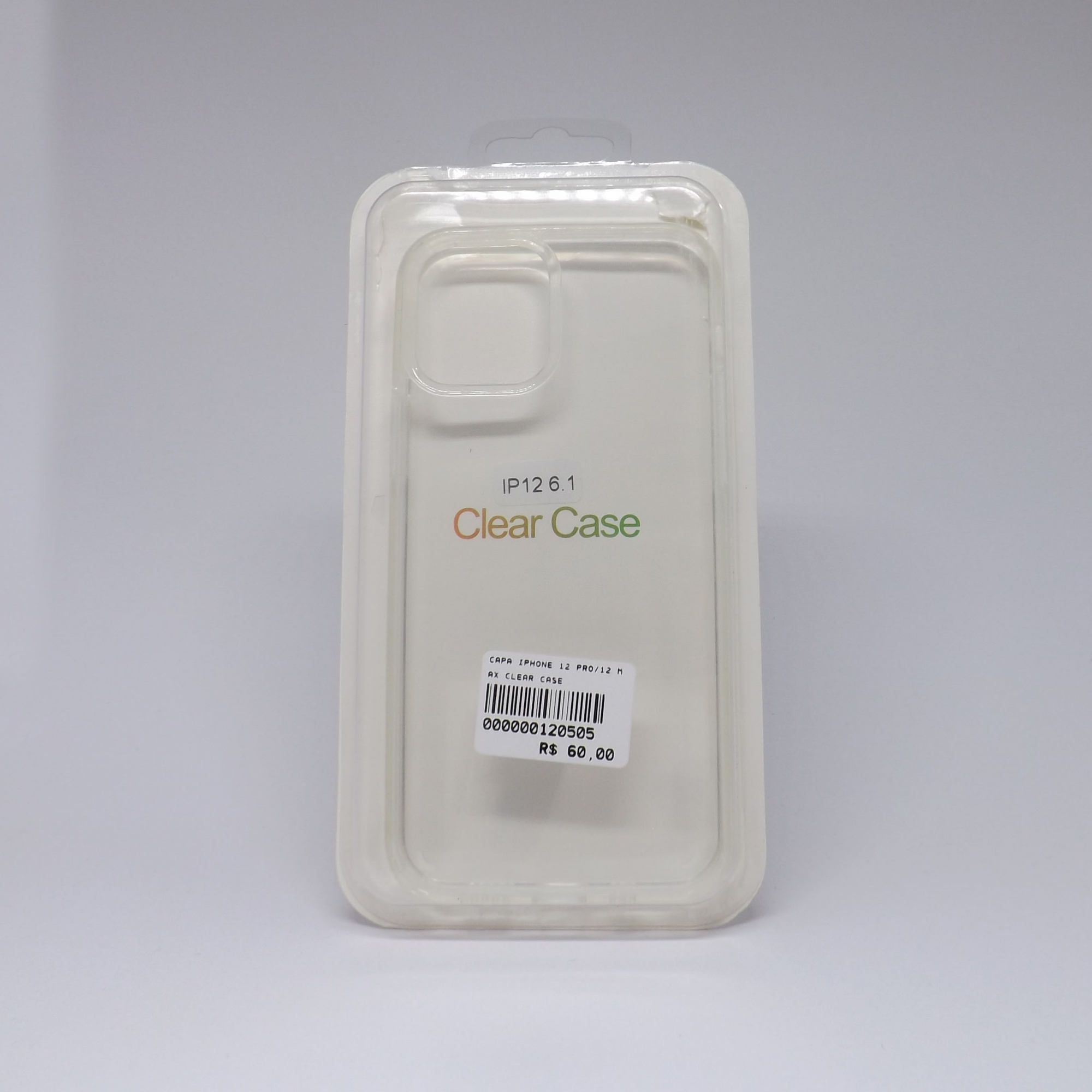 Capa Iphone 12 Pro Clear Case