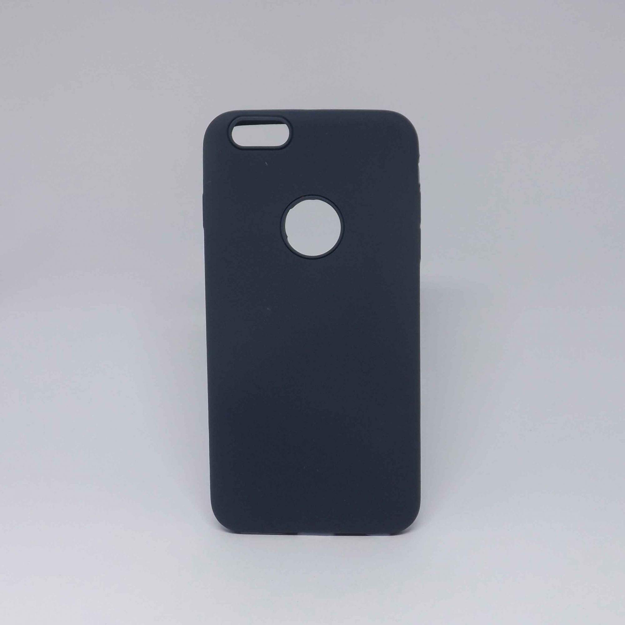 Capa Iphone 6s Plus Borracha Sem Logo