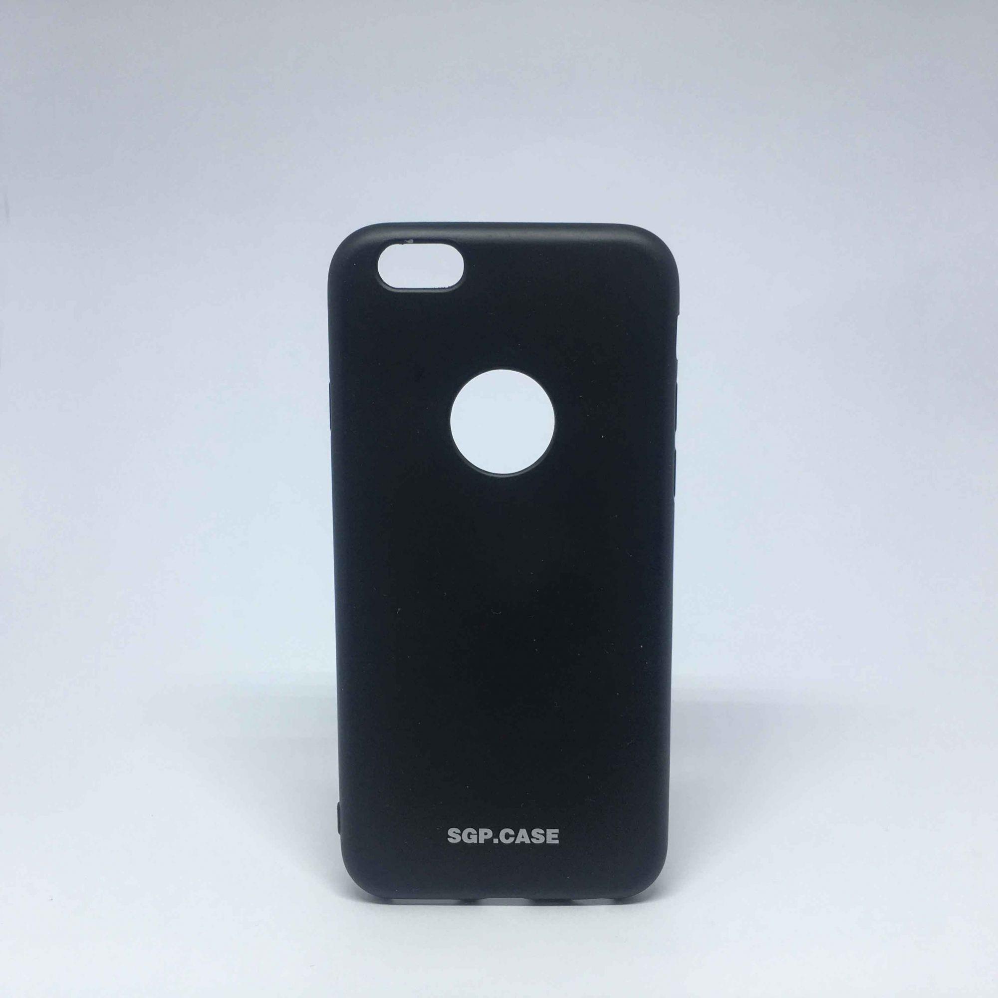 Capa iPhone 6s Preta Molinha