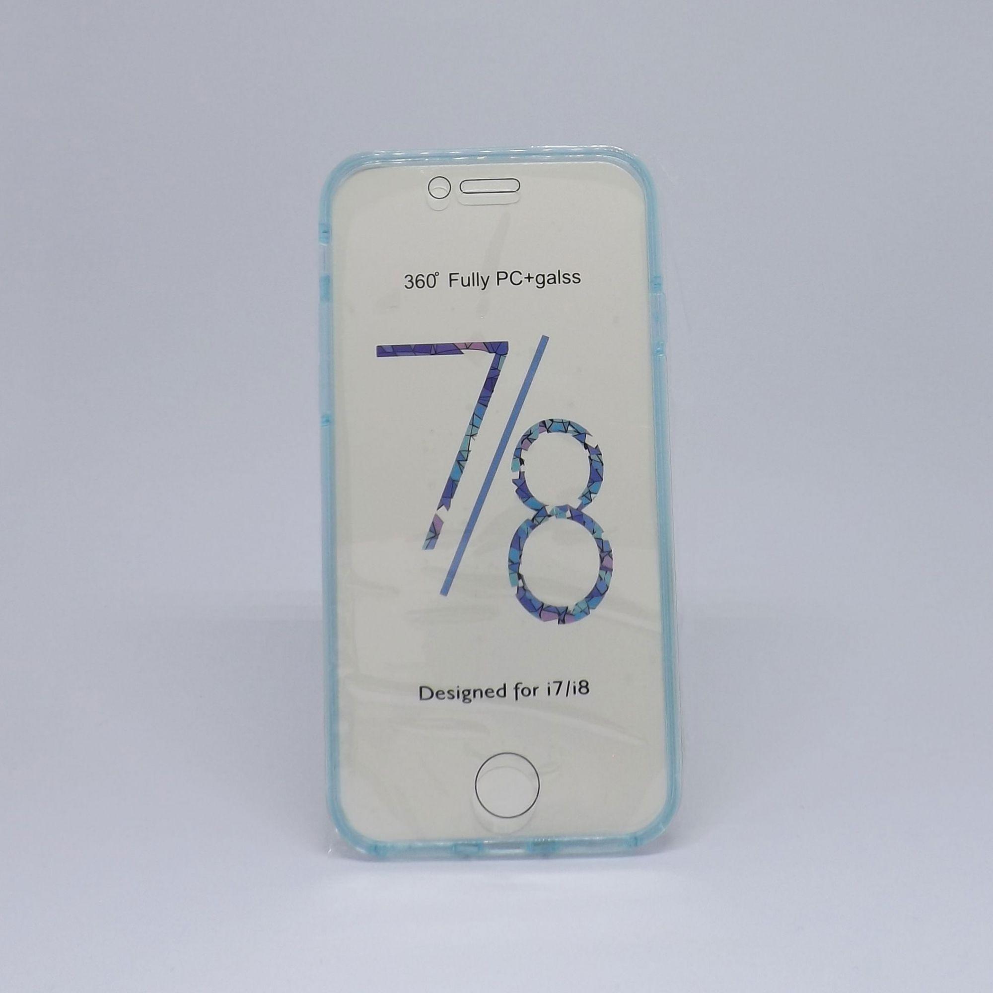 Capa Iphone 7/8 360º (Frente e Verso)