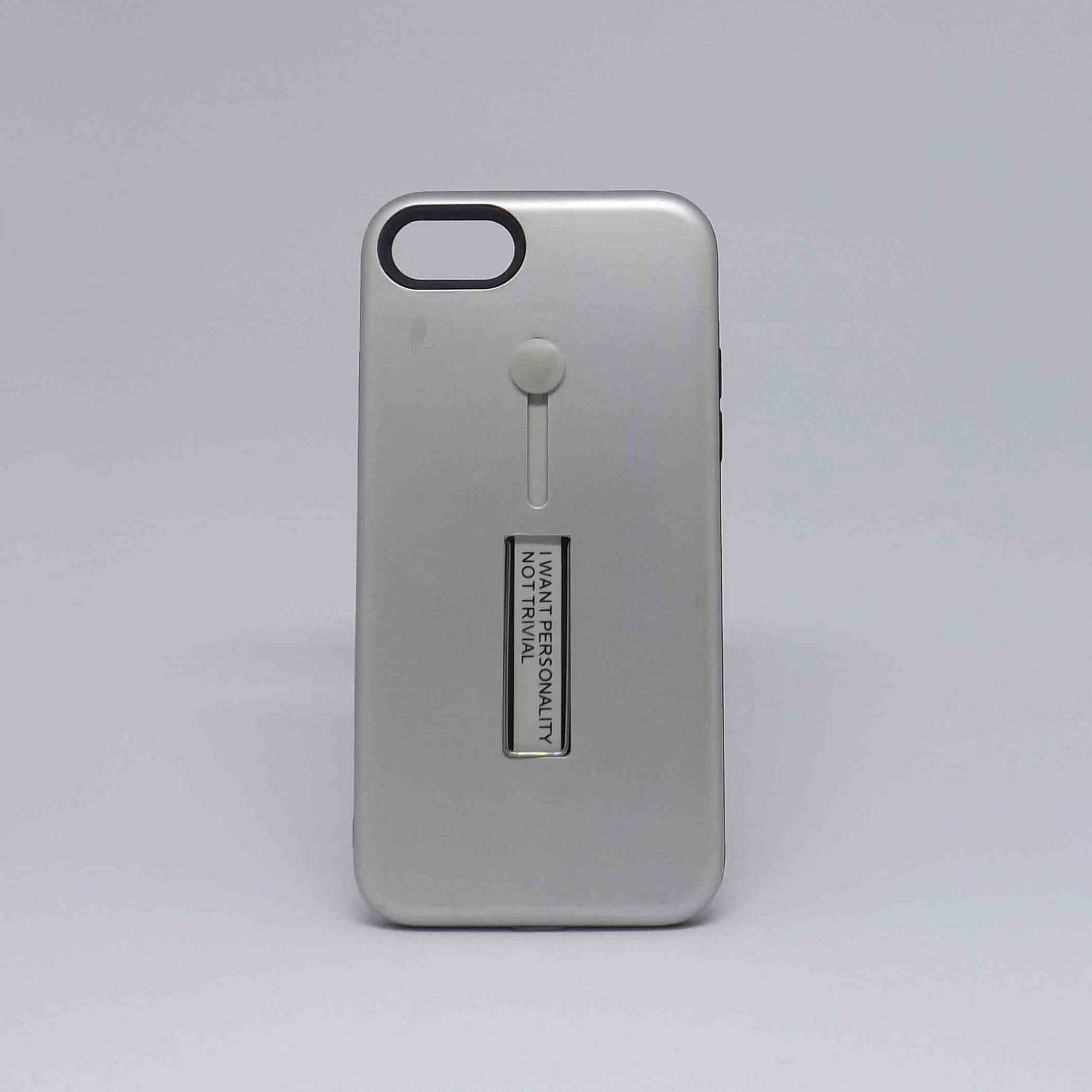 Capa Iphone 7/8 Antiqueda com Pop Case Metal