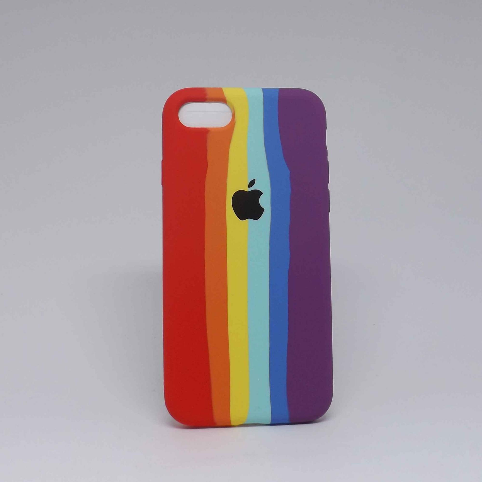 Capa iPhone 7/8 Autêntica Arco-Íris