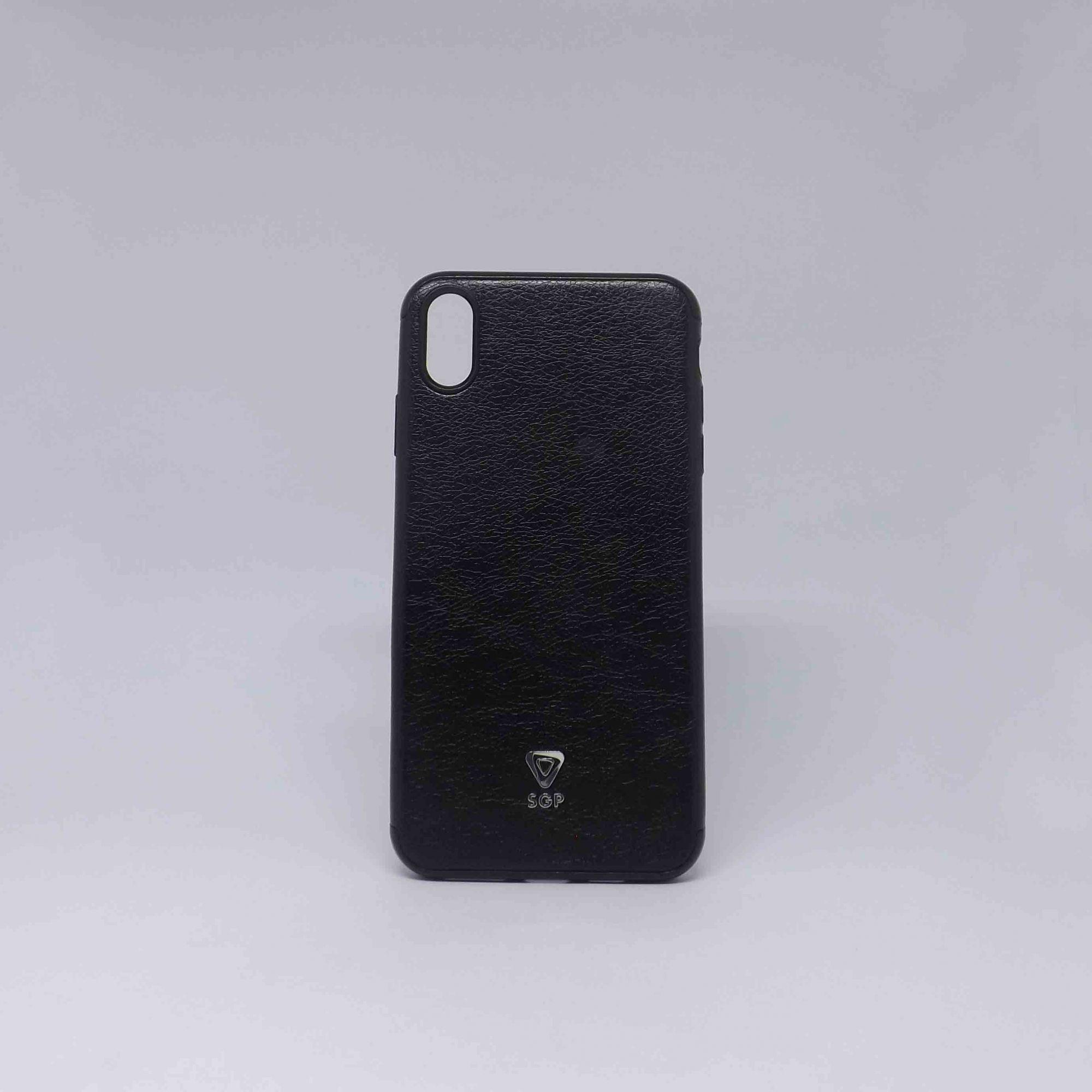 Capa Iphone Xs Max Couro