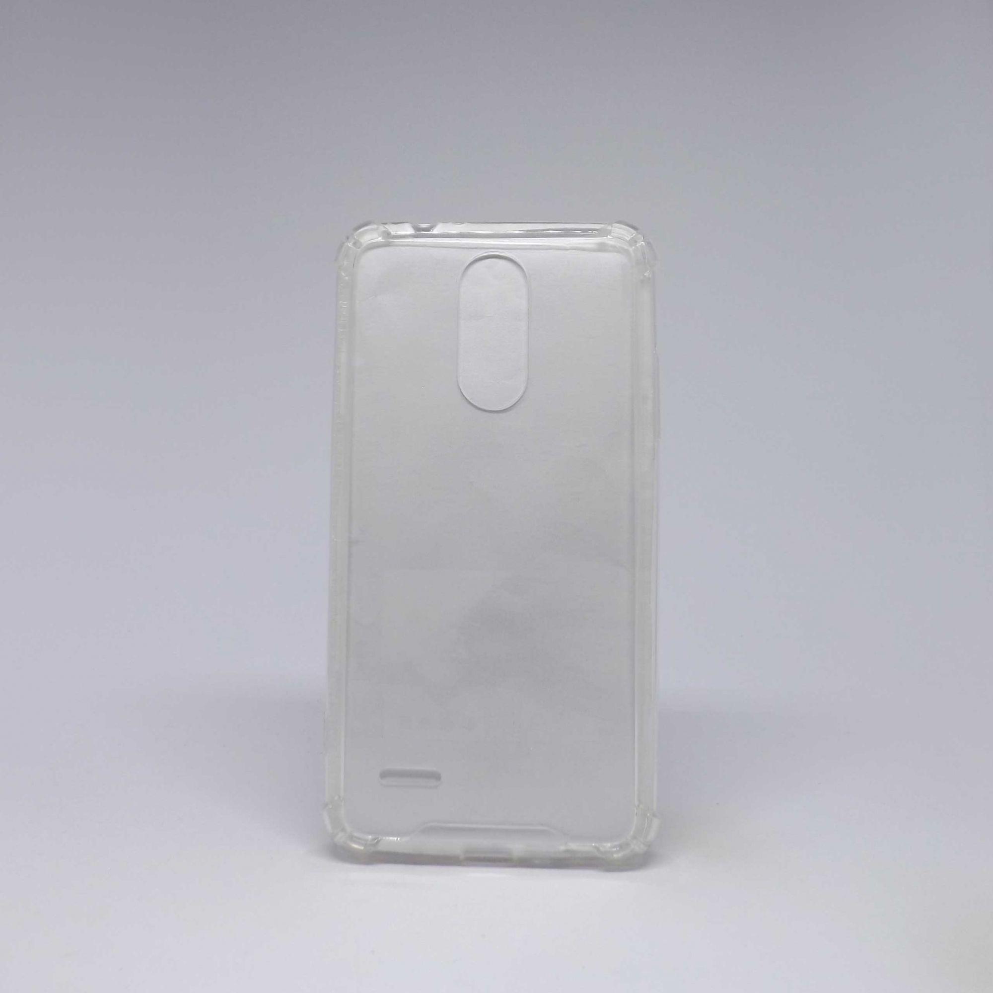 Capa LG K10 2017 Antiqueda Transparente