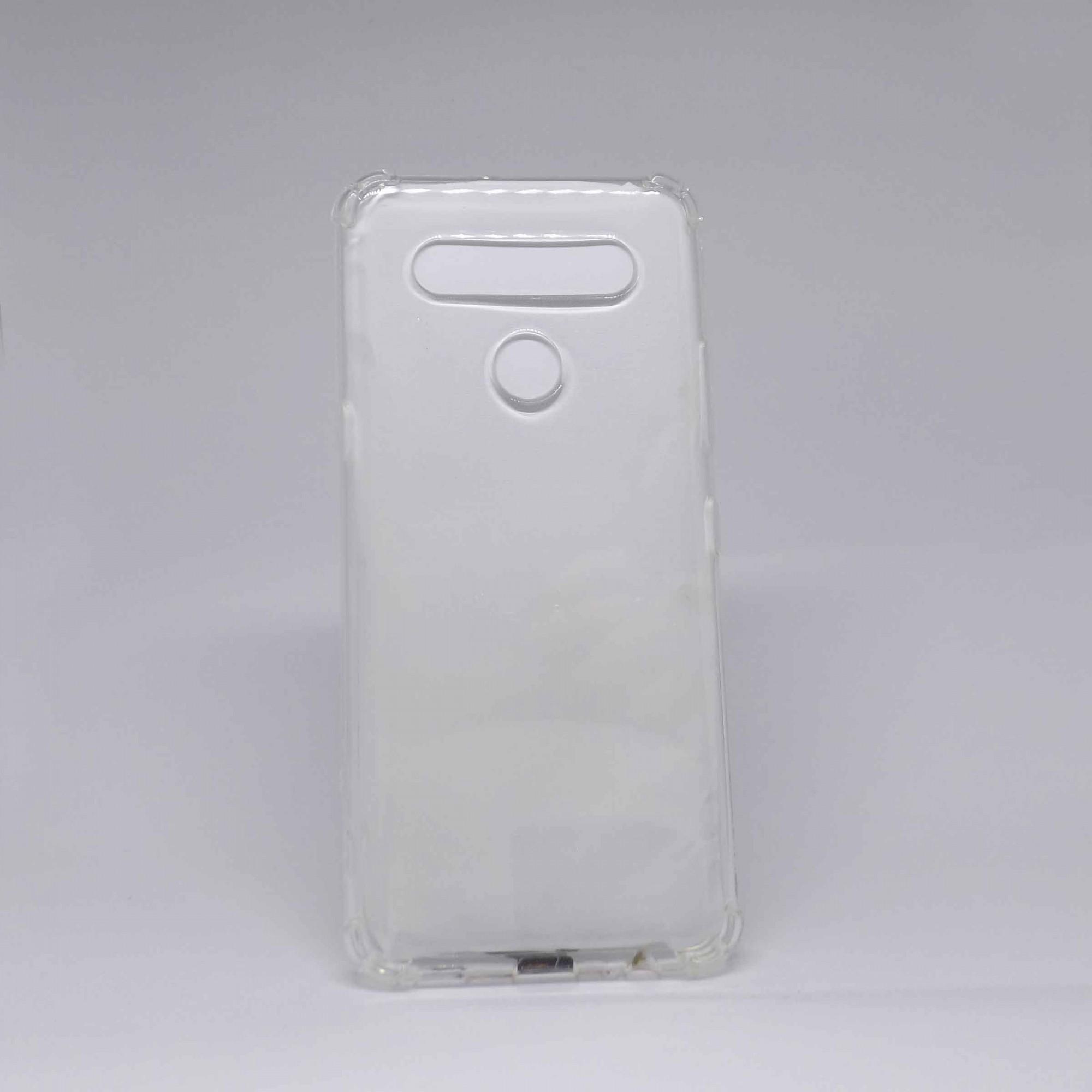 Capa LG K51s Antiqueda Transparente