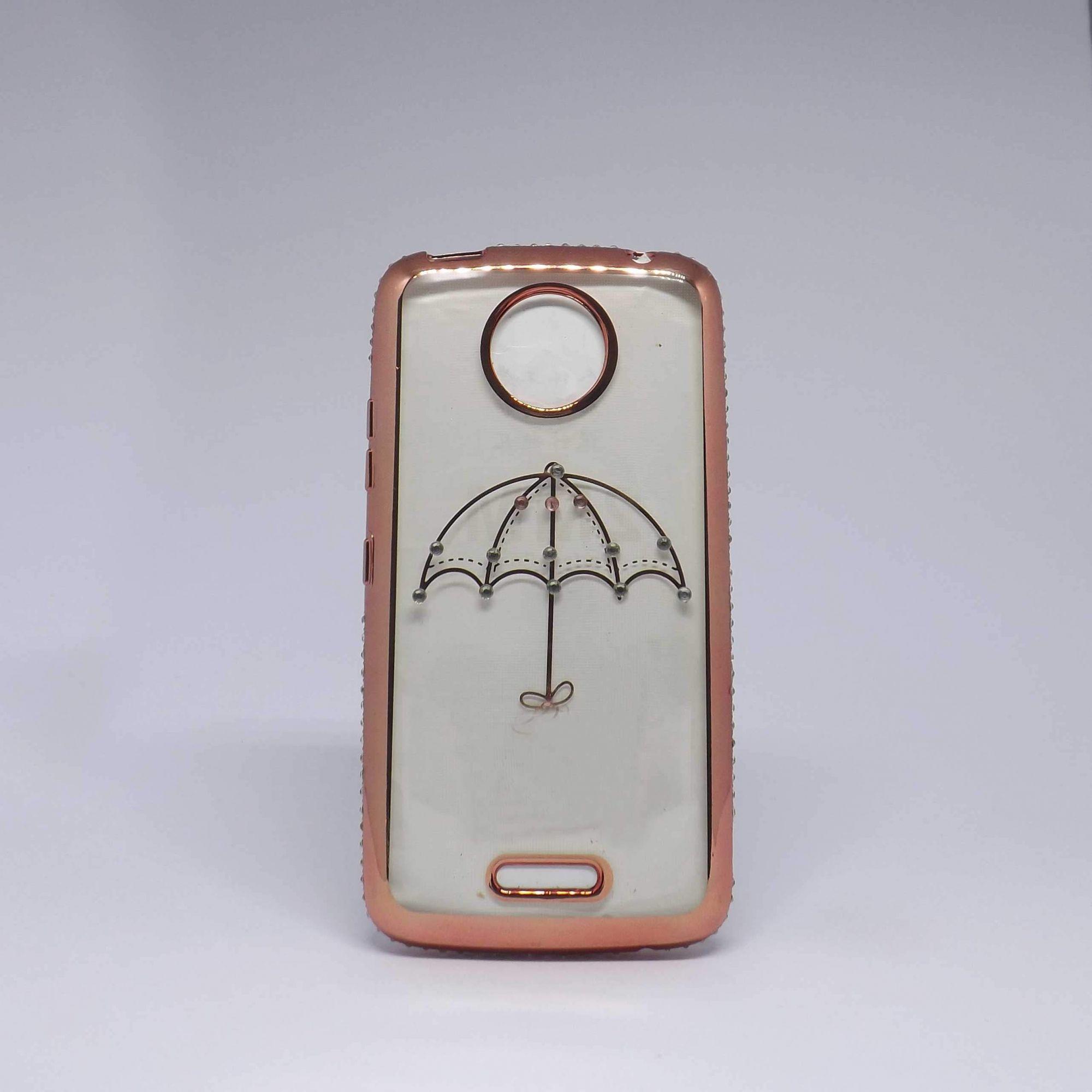 Capa Motorola C Plus Brilho Estampado