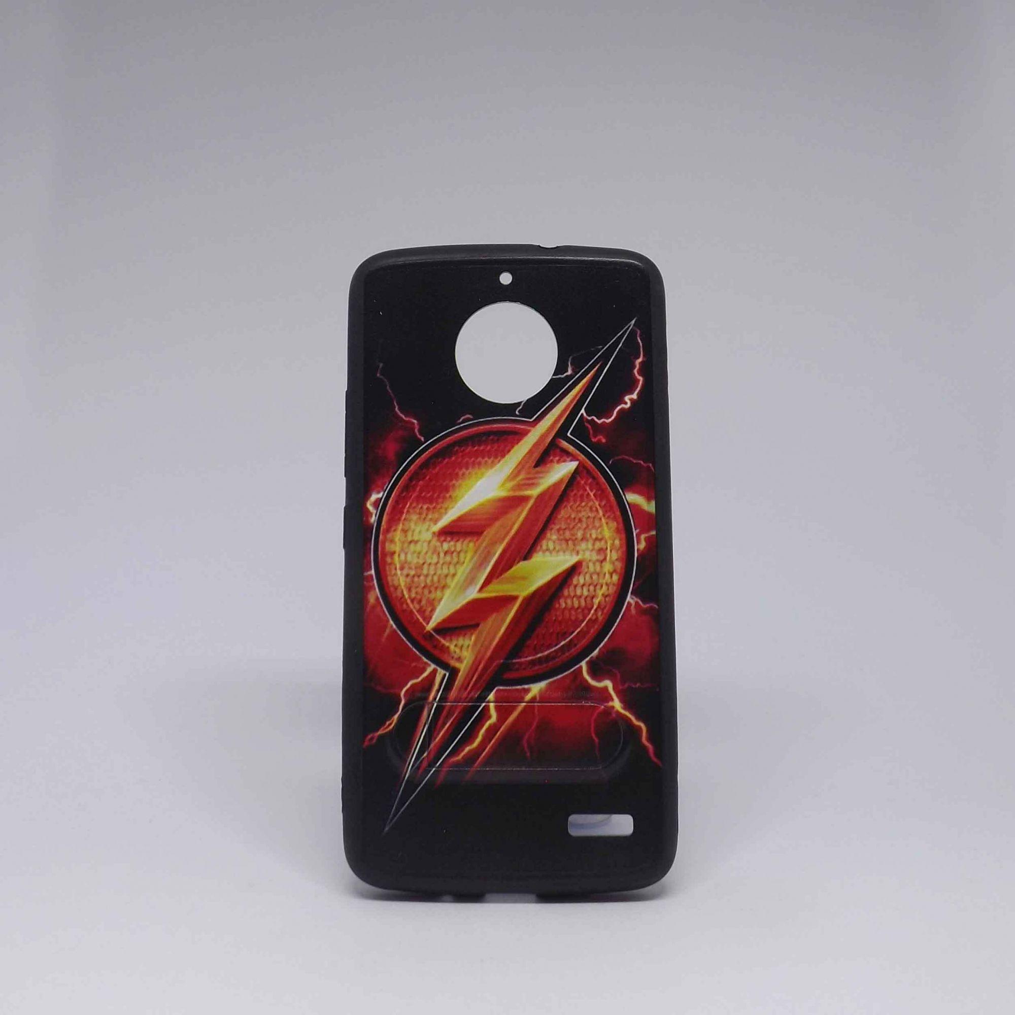 Capa Motorola E4 Super-Heróis