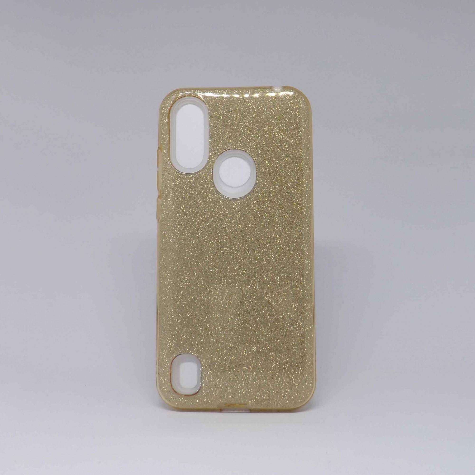 Capa Moto E6s Glitter