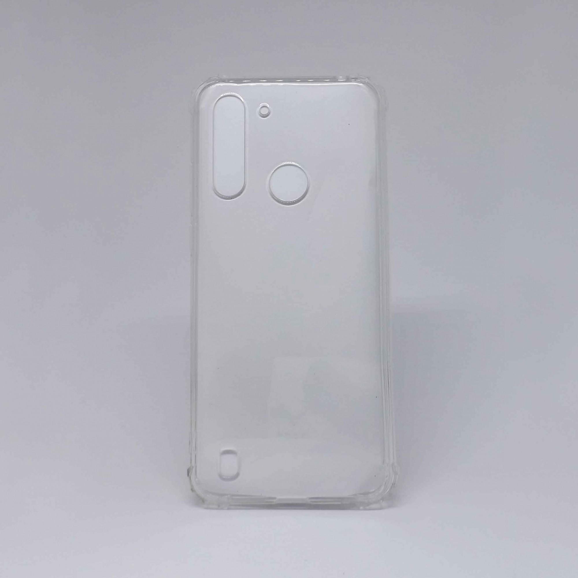 Capa Moto G8 Power Lite Antiqueda Transparente
