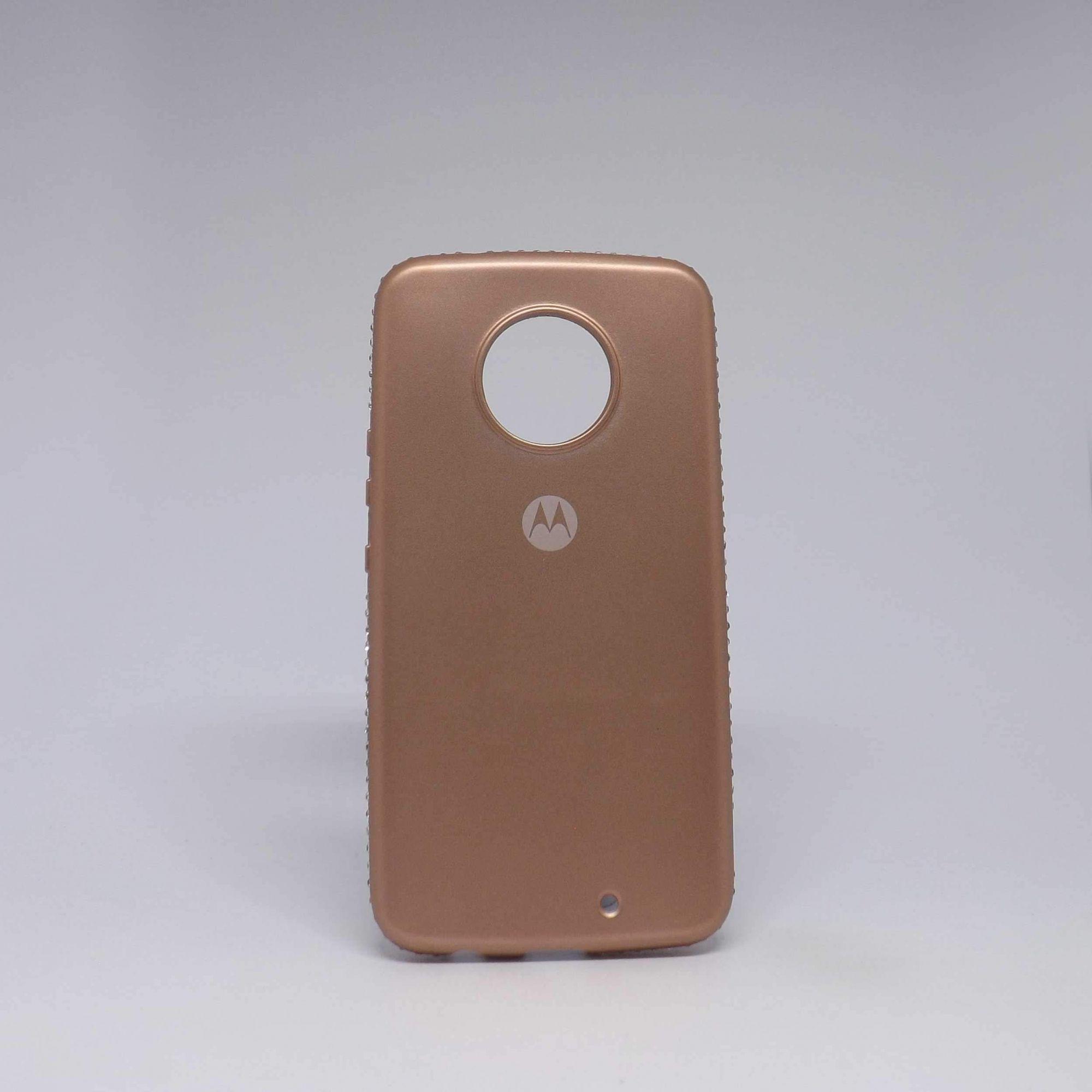 Capa Motorola X4 SGP Metalizada com Strass