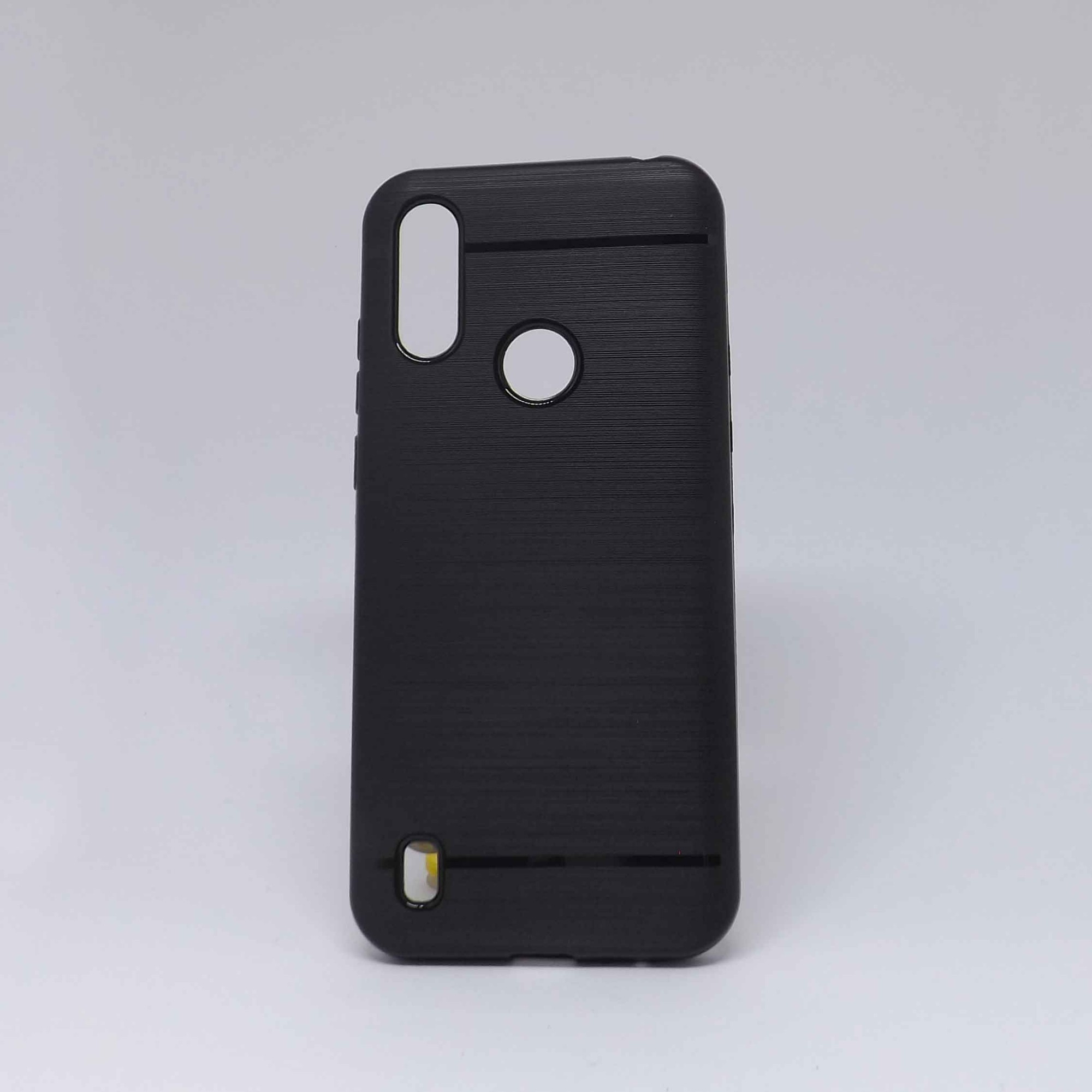 Capa Motorola E6s Preta Molinha