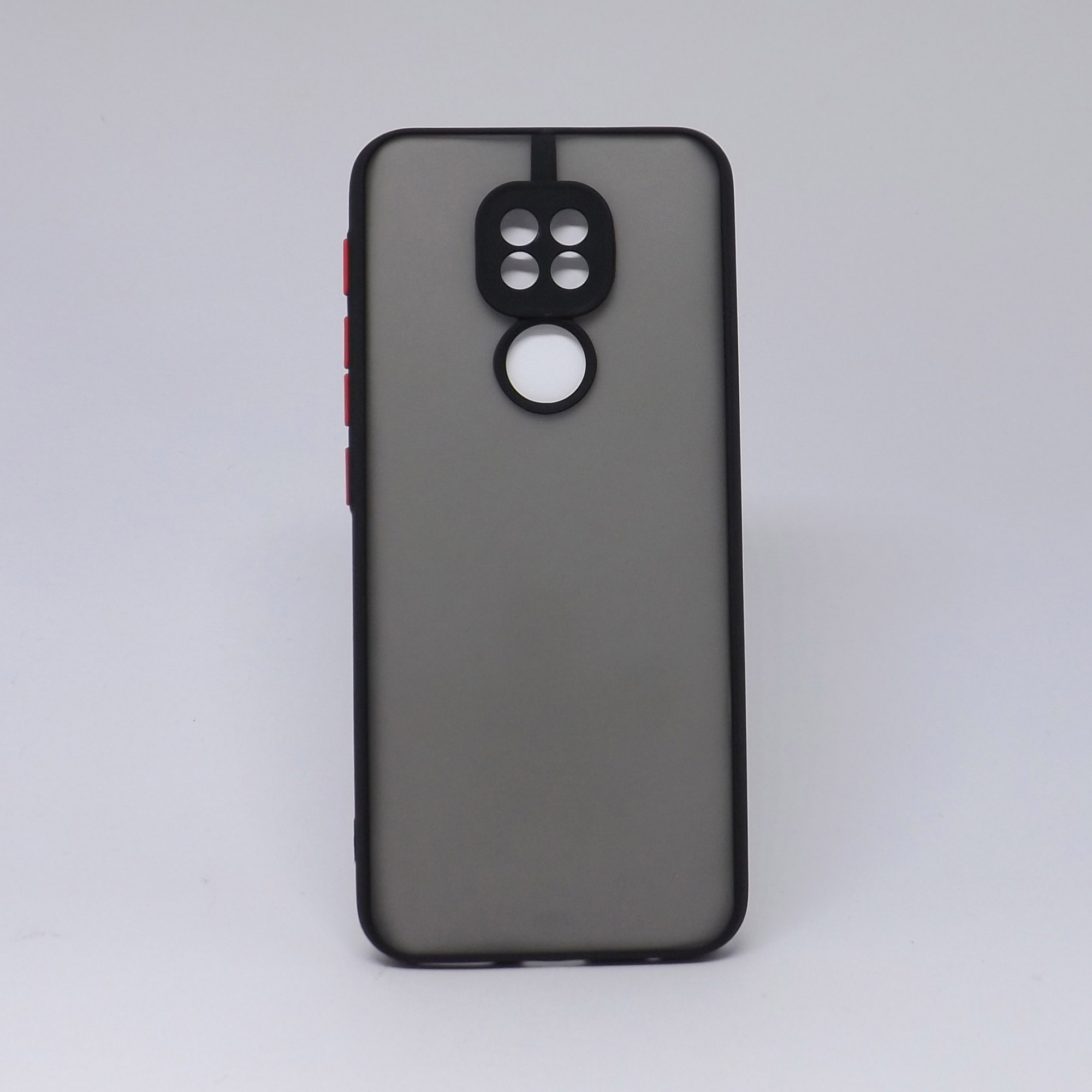 Capa Motorola G9 Play Fumê com Borda Colorida