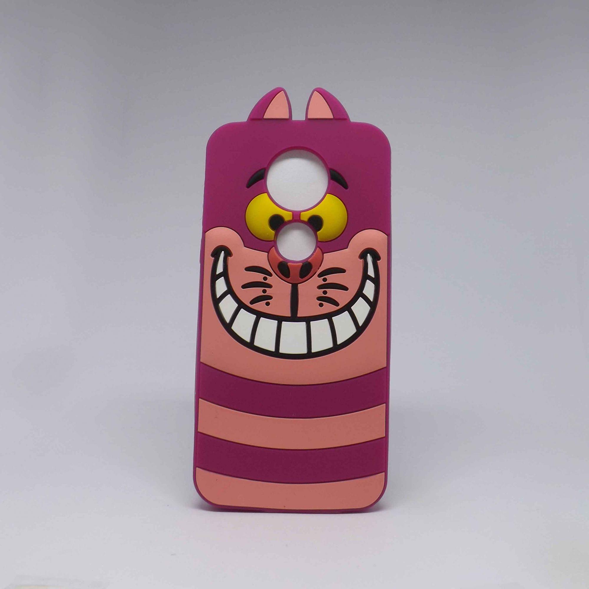 Capa Motorola E5 Plus Personagens - Gato Risonho