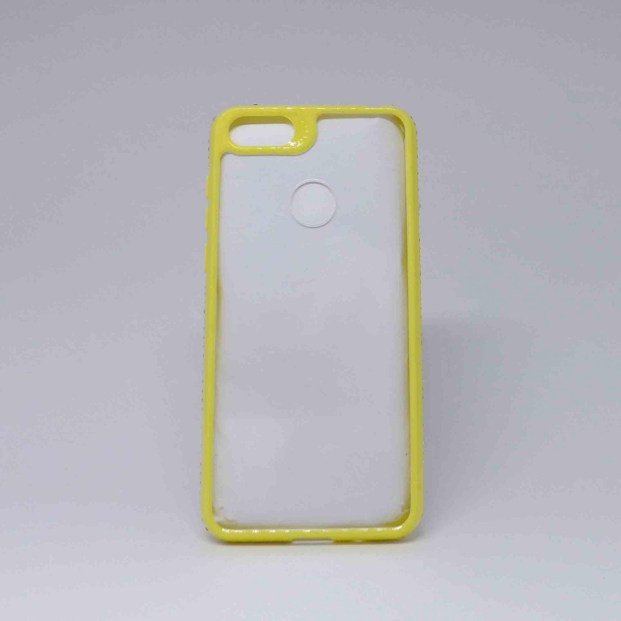 Capa Motorola E6 Play Transparente com Strass na Lateral