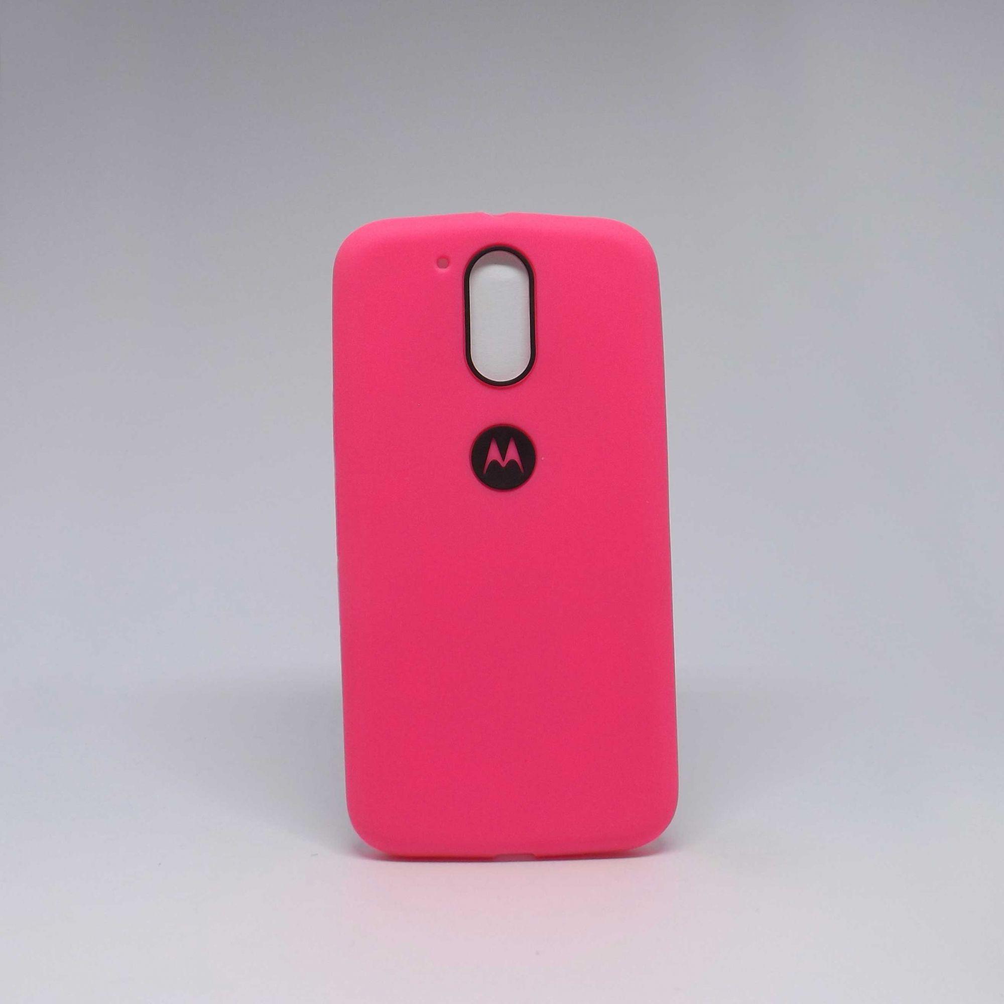 Capa Motorola G4 Plus Borracha
