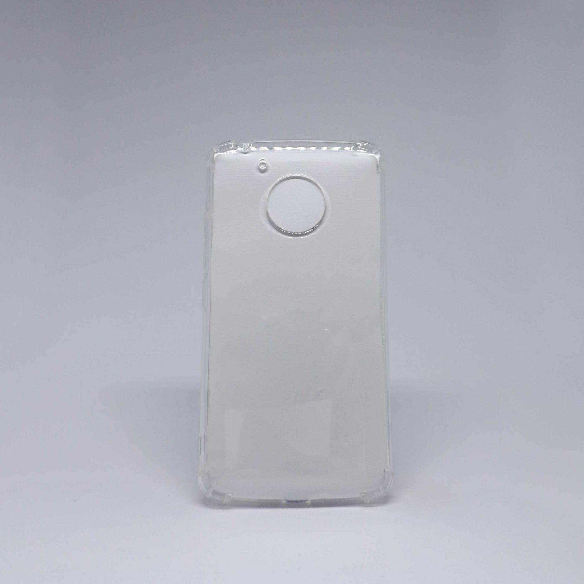 Capa Motorola G5 Antiqueda Transparente