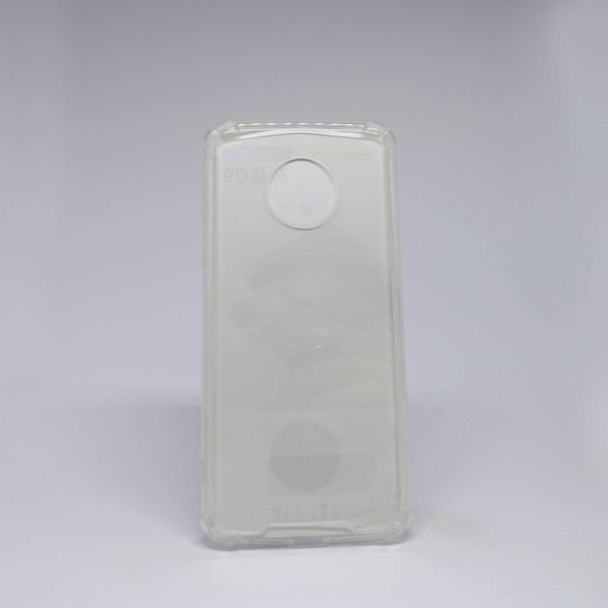 Capa Motorola G6 Plus Antiqueda Transparente