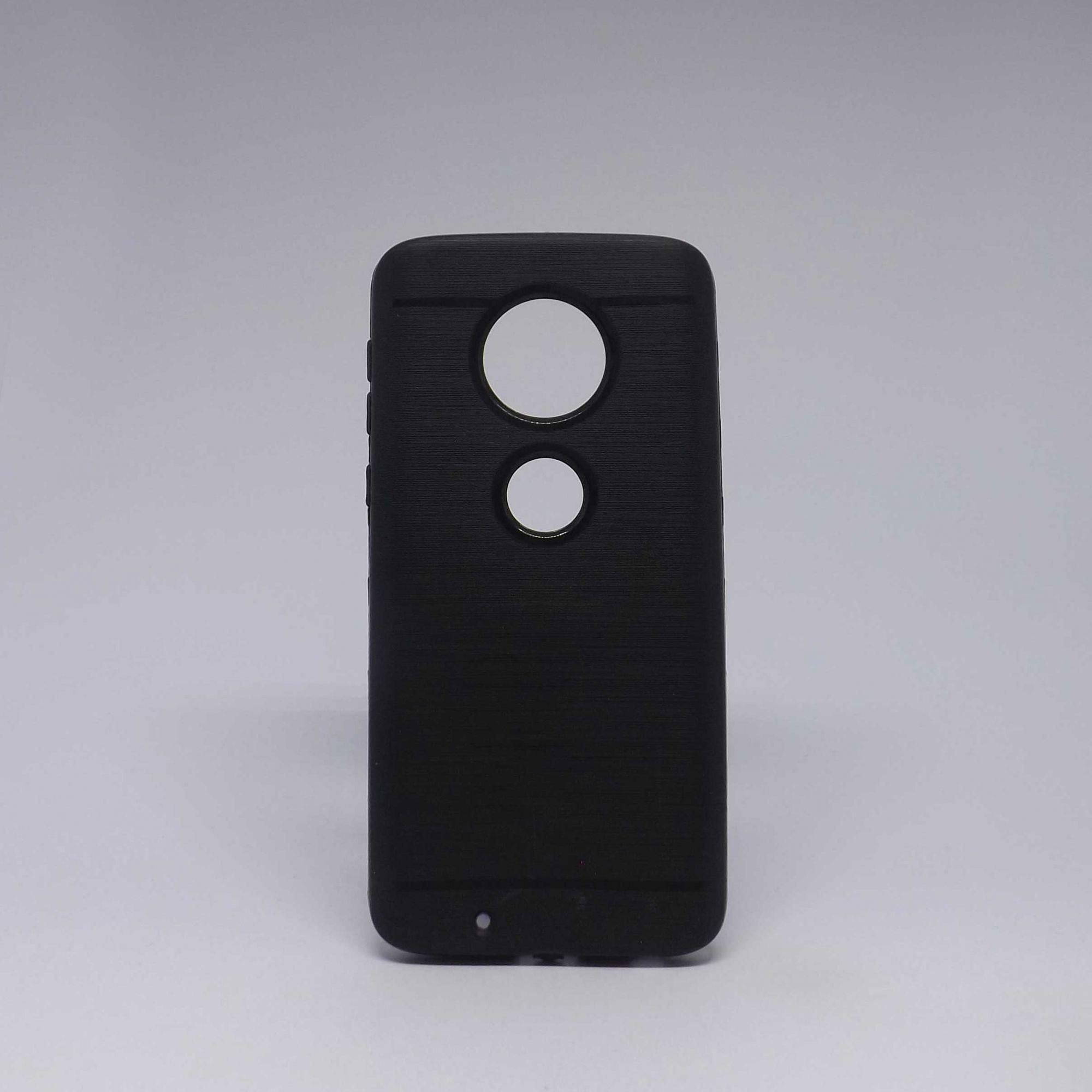 Capa Motorola G6 Preta Molinha