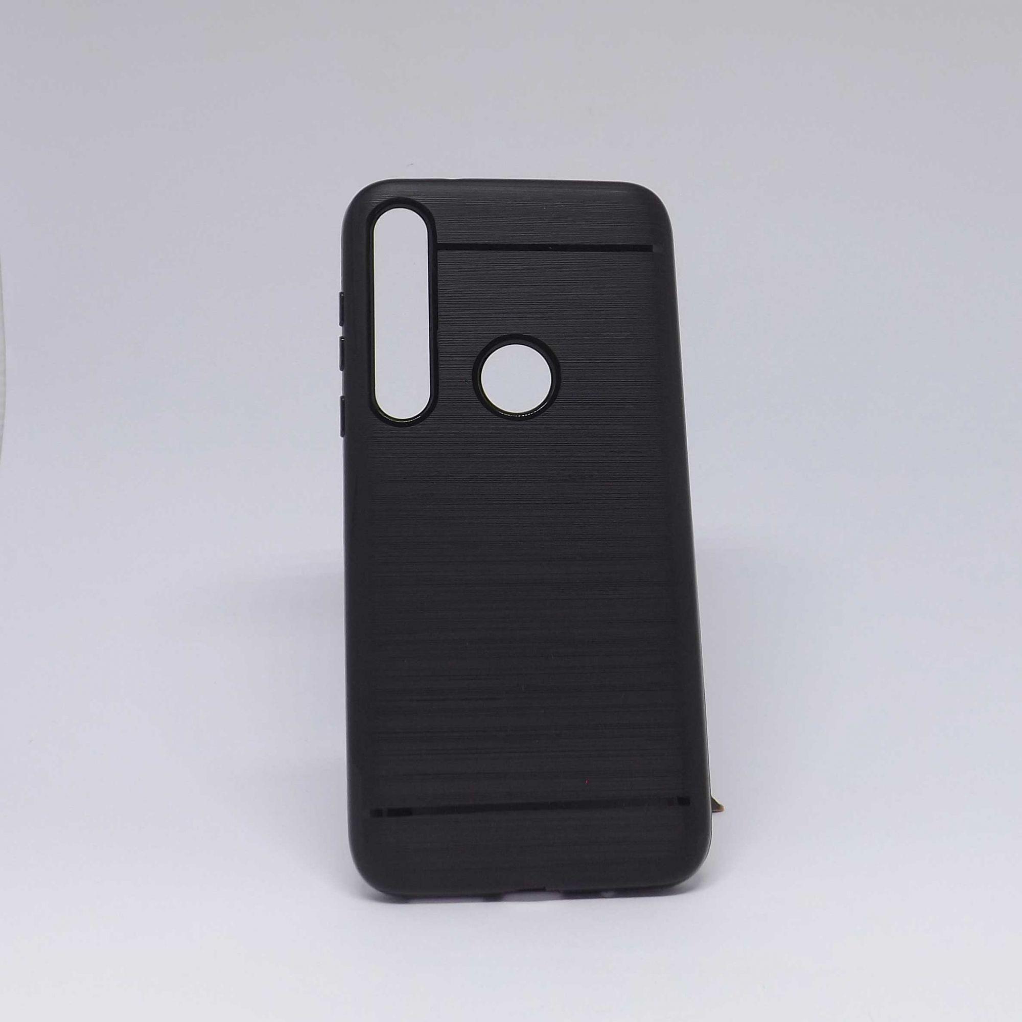 Capa Motorola G8 Plus Preta Molinha