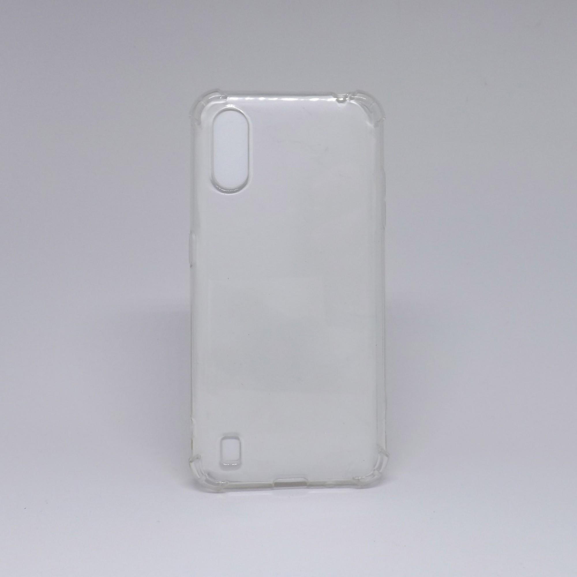 Capa Samsung Galaxy A01 Antiqueda Transparente