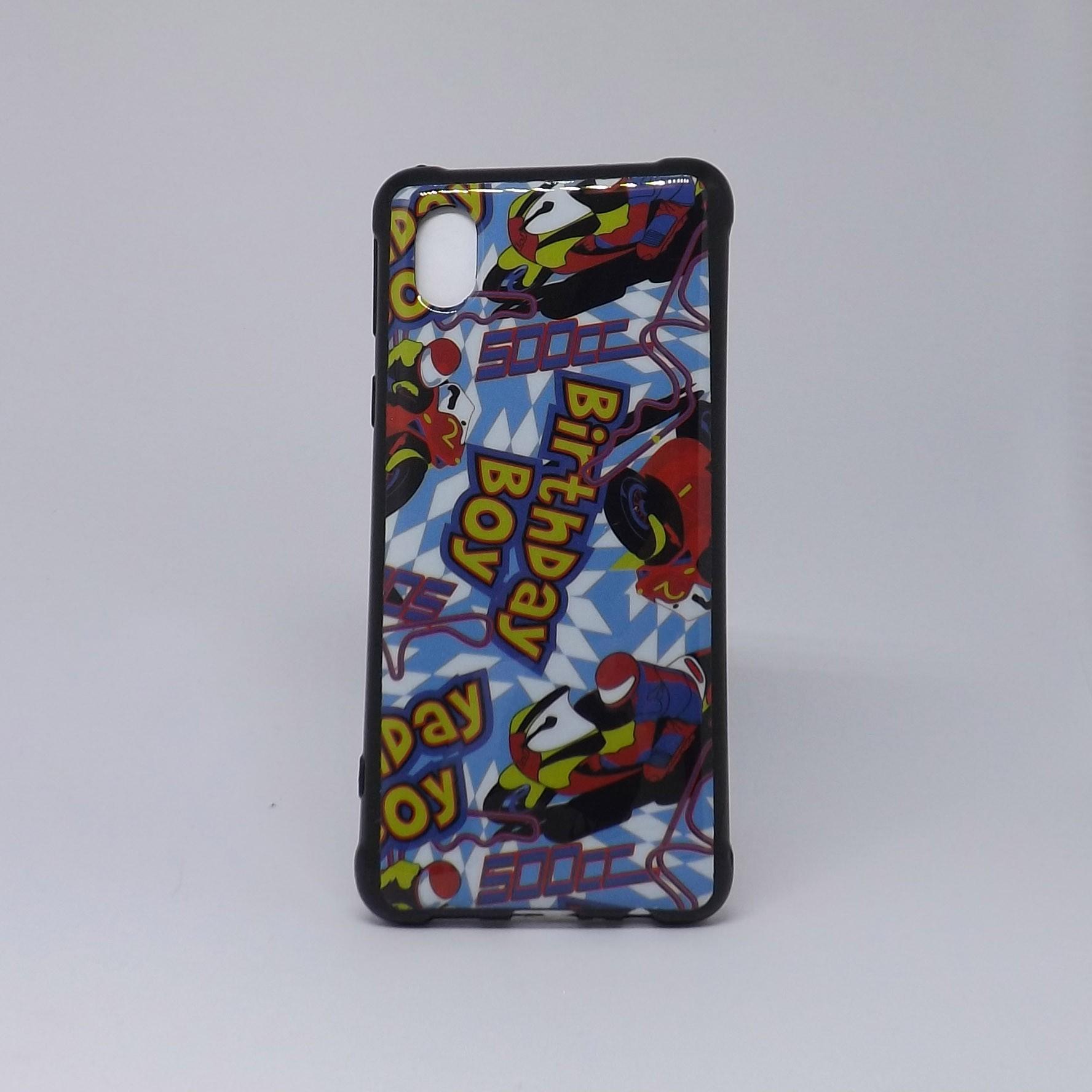 Capa Samsung Galaxy A01 Fumê Estampada
