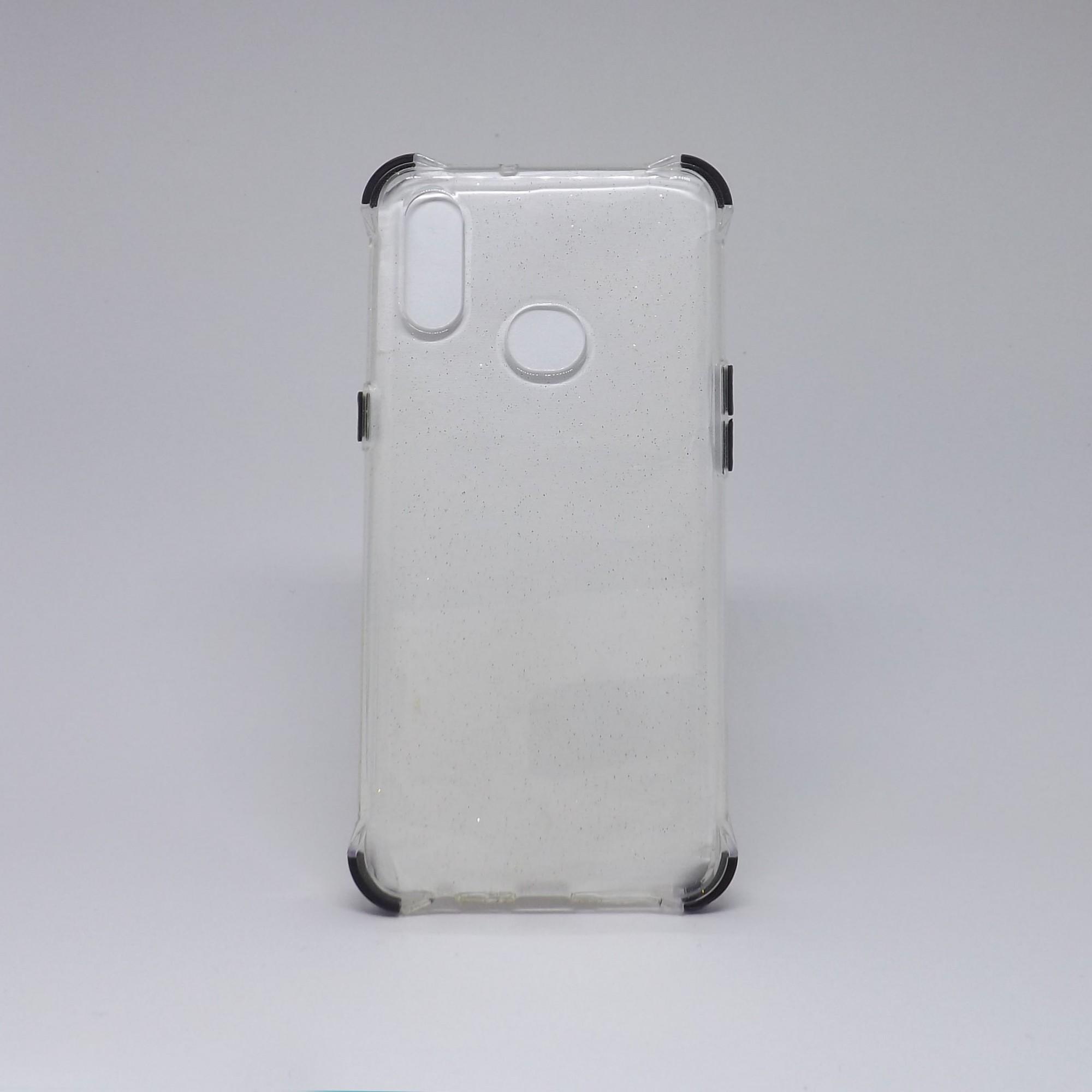 Capa Samsung Galaxy A10s Transparente com Brilho