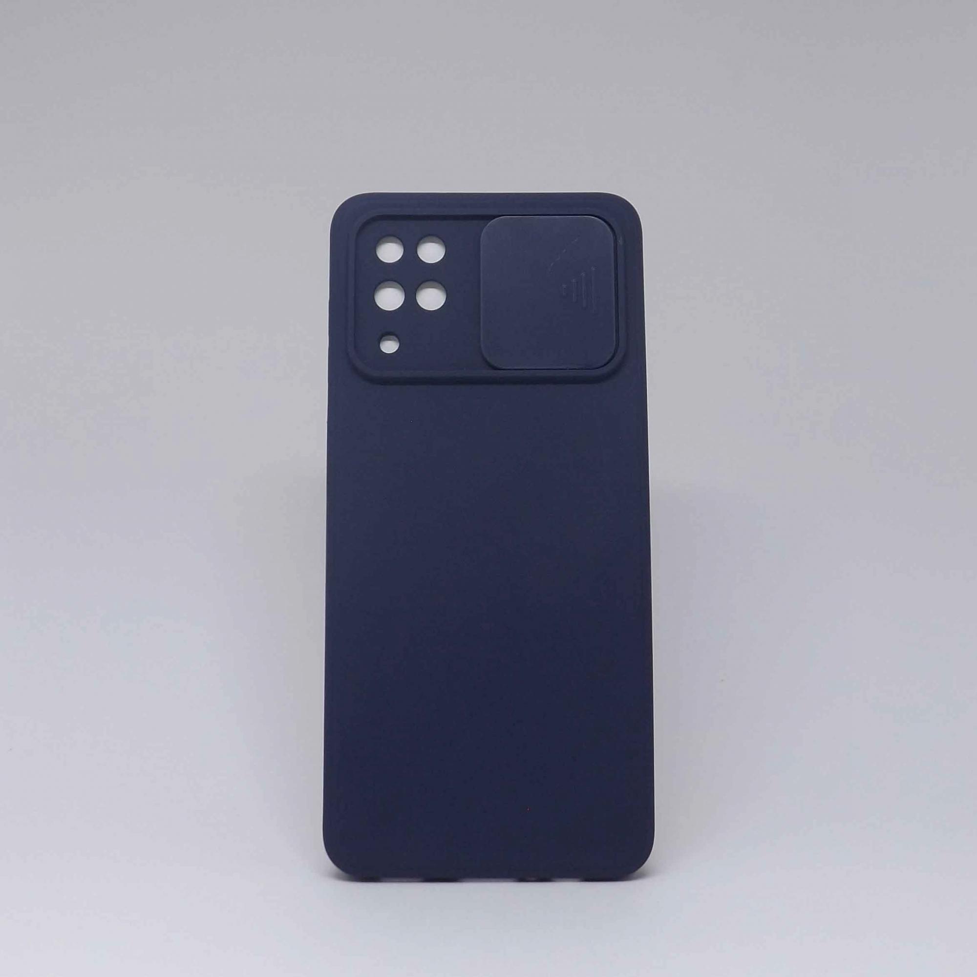 Capa Samsung Galaxy A12 Autêntica Com Proteção Na Câmera