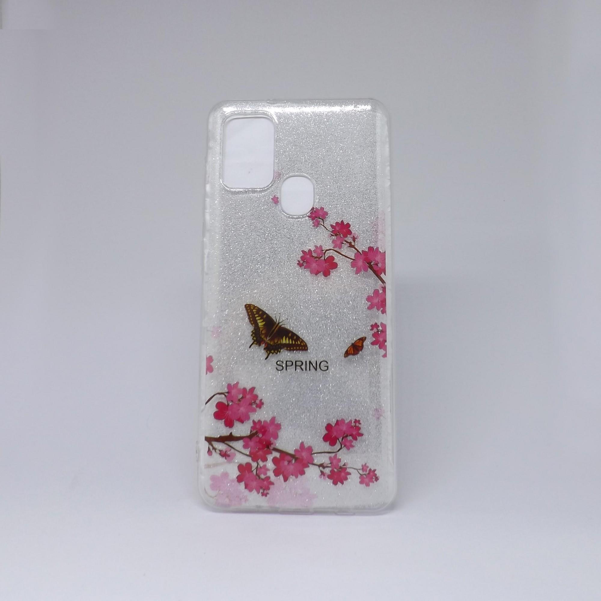 Capa Samsung Galaxy A21s Brilho Estampado
