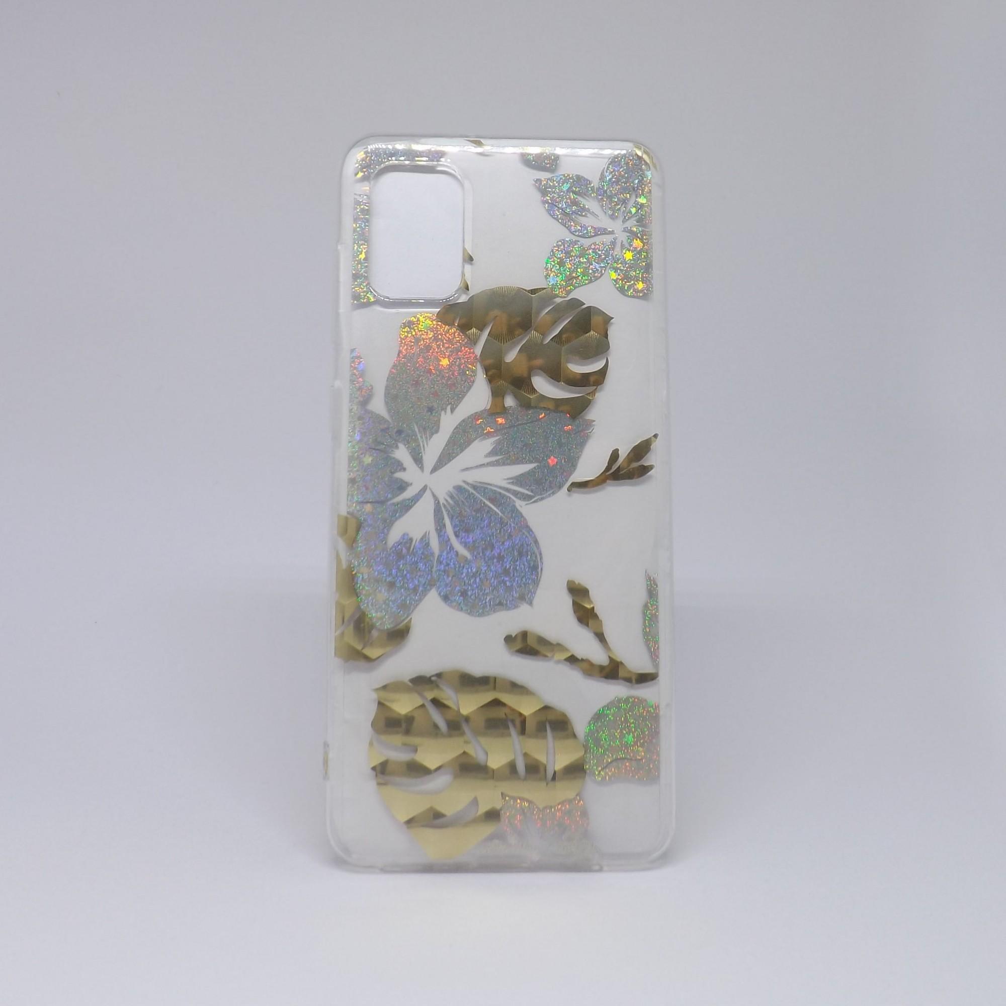 Capa Samsung Galaxy A31 Transparente com Borda Colorida