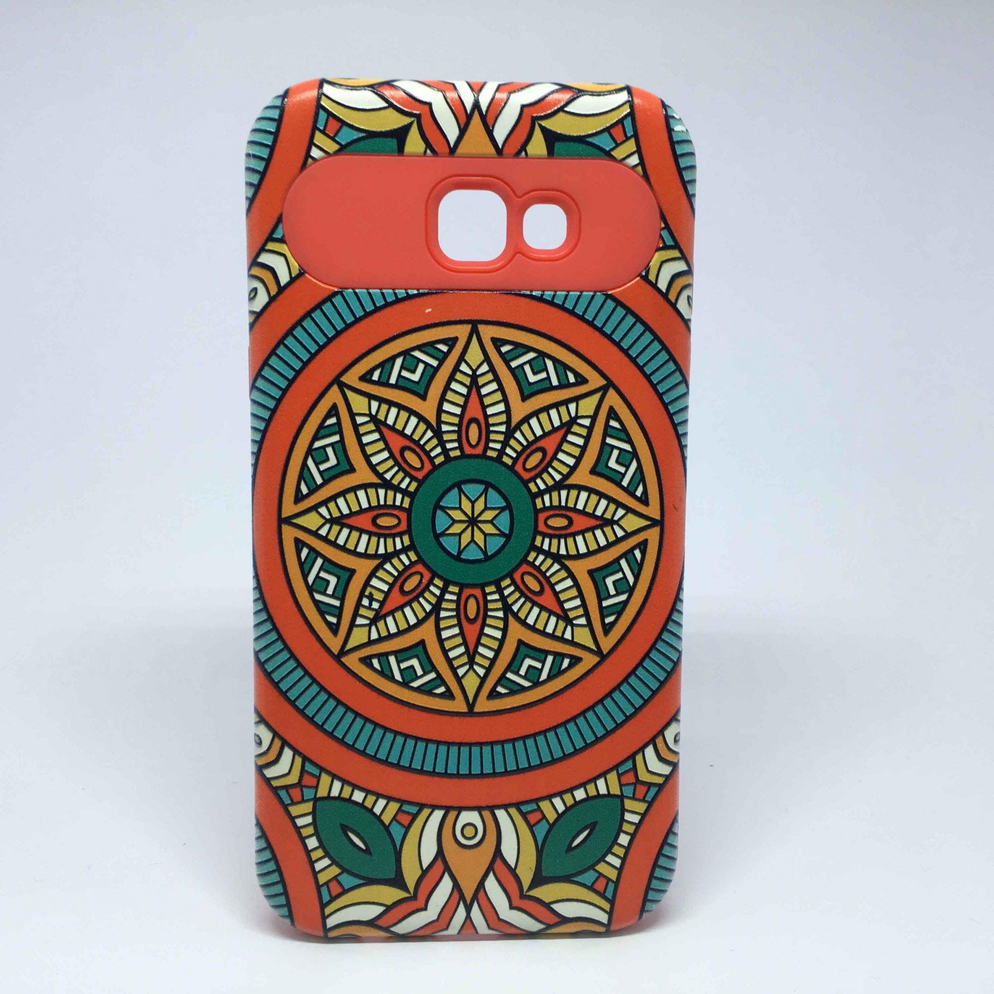 Capa Samsung Galaxy A7 2017 Antiqueda Estampada