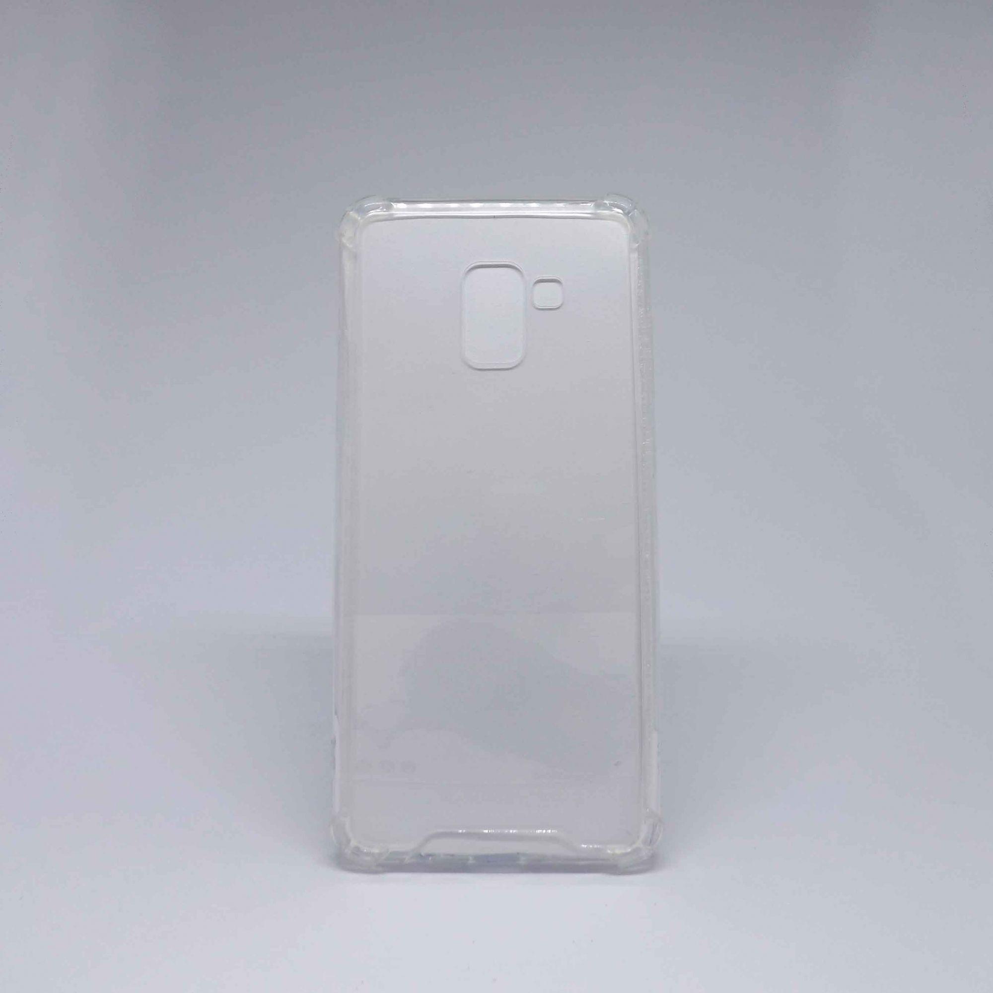 Capa Samsung Galaxy A8 Plus Antiqueda Transparente