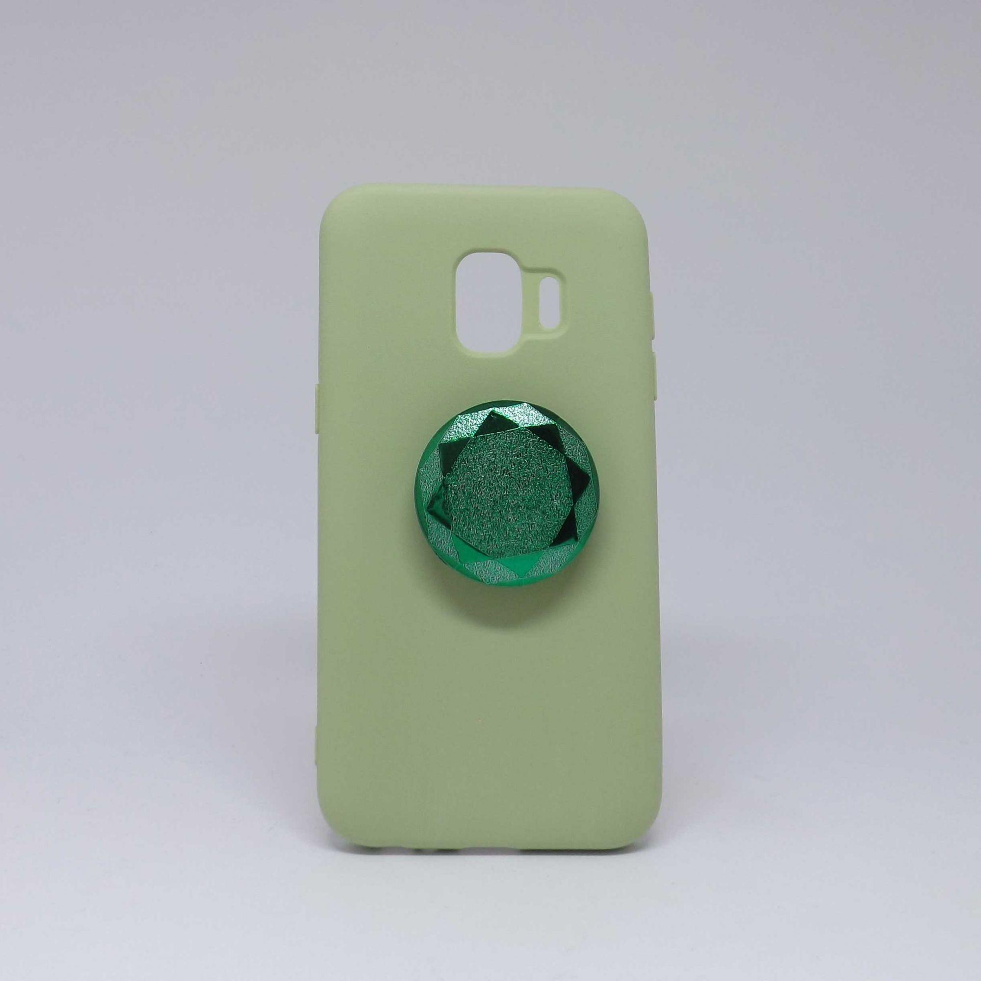 Capa Samsung Galaxy J2 Core Brilho com Pop Case