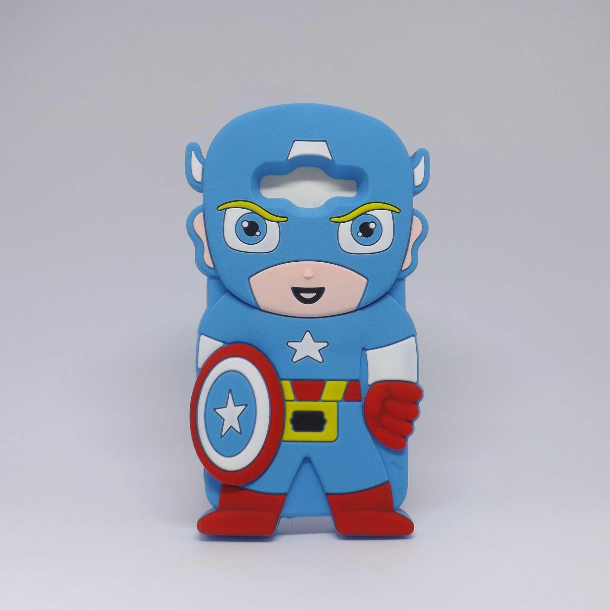 Capa Samsung Galaxy J2 Prime Personagens - Capitão América
