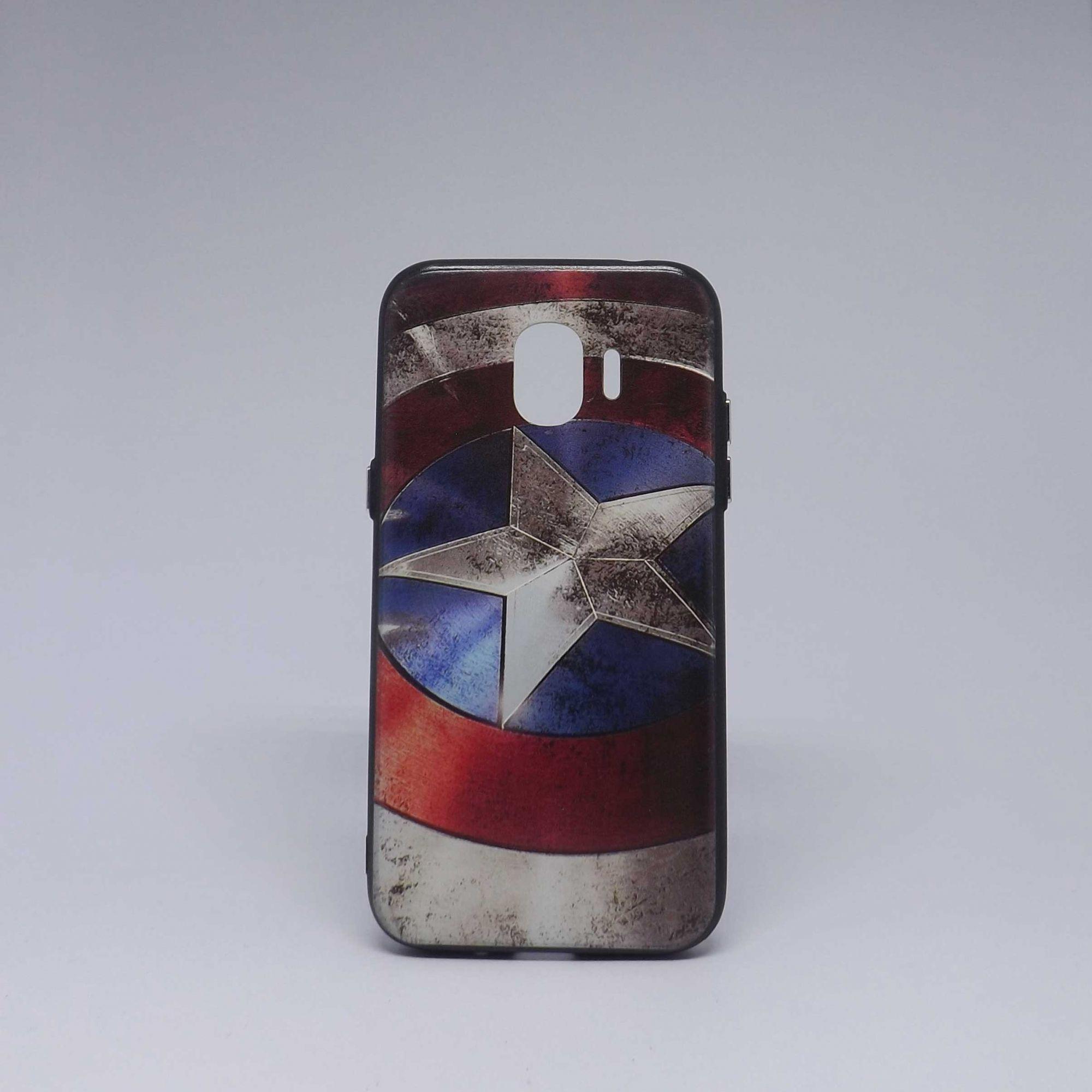 Capa Samsung Galaxy J2 Pro Super-Heróis