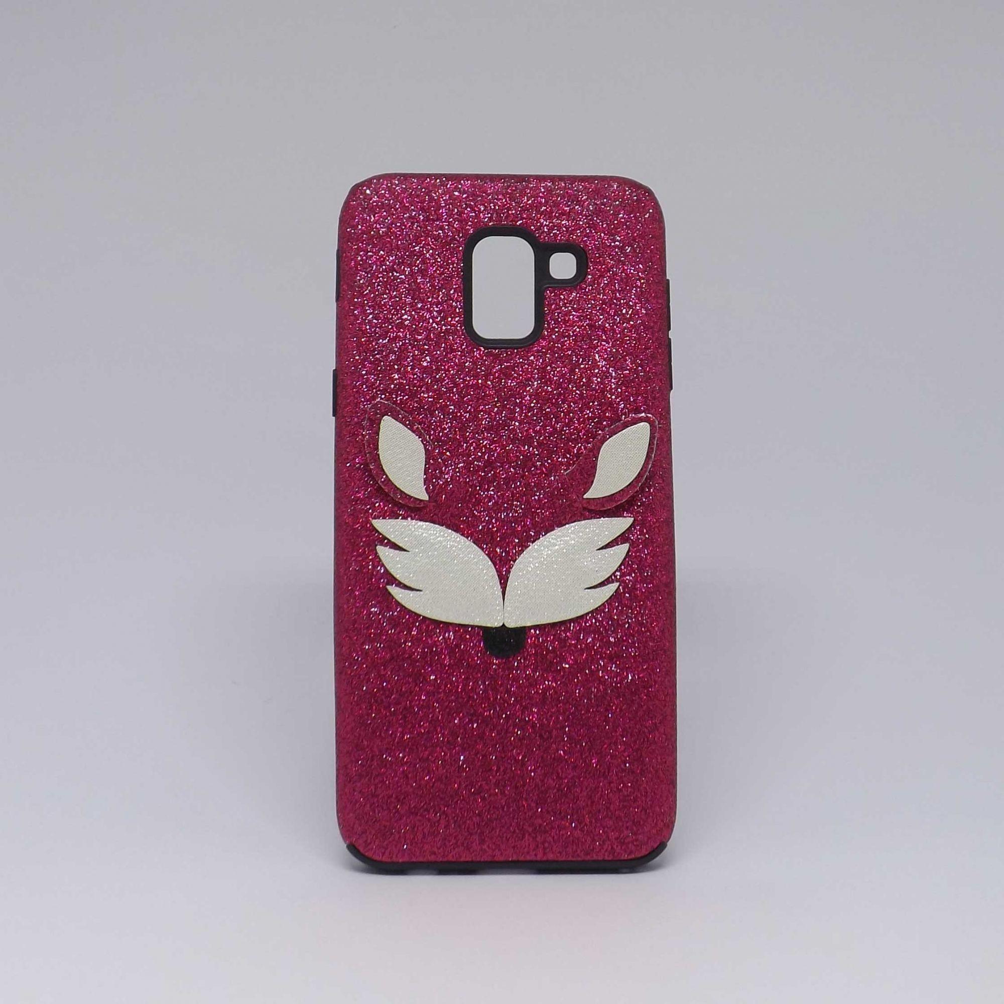 Capa Samsung Galaxy J6 Brilho Estampado - Raposa