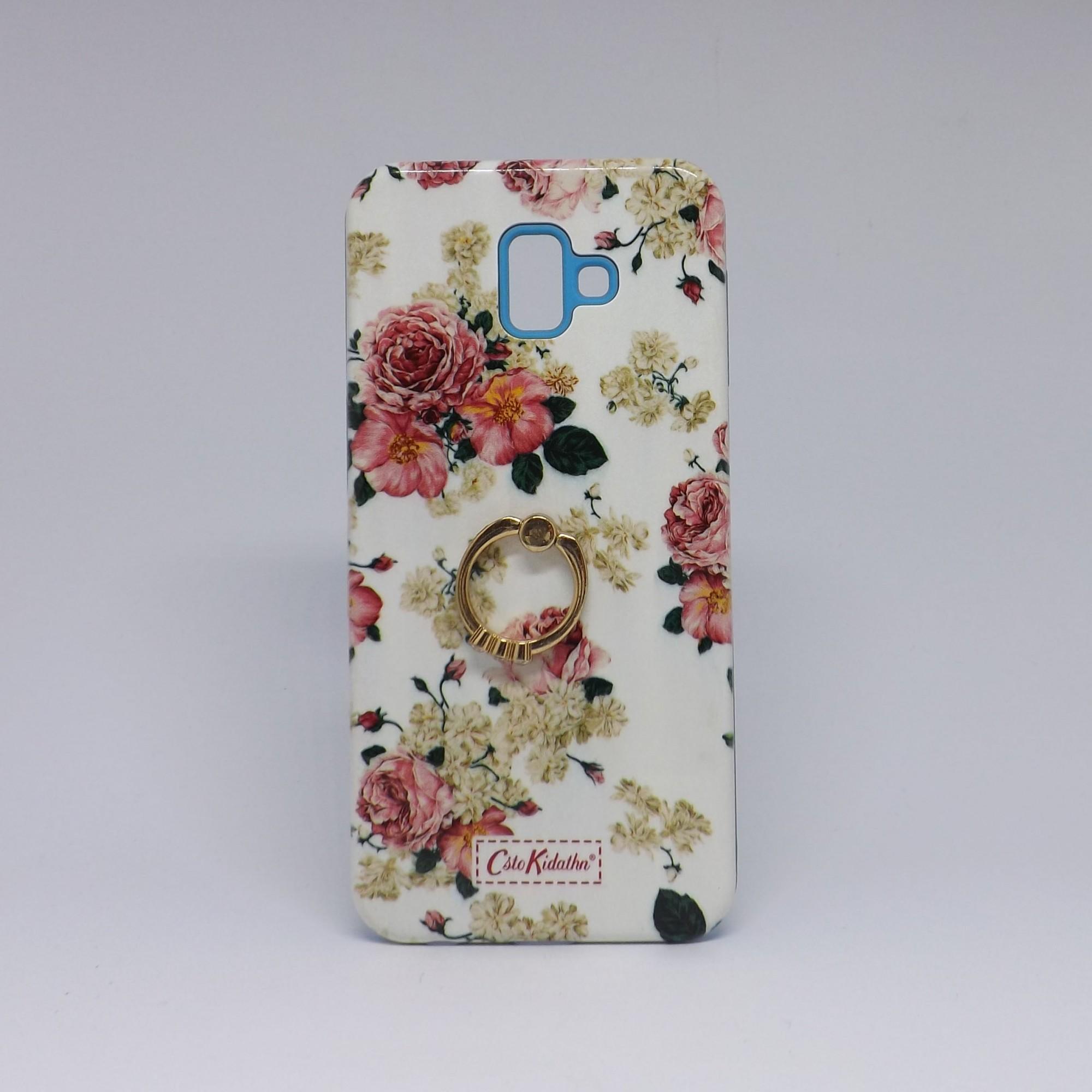 Capa Samsung Galaxy J6 Plus Antiqueda Estamp. Pop Case Anel