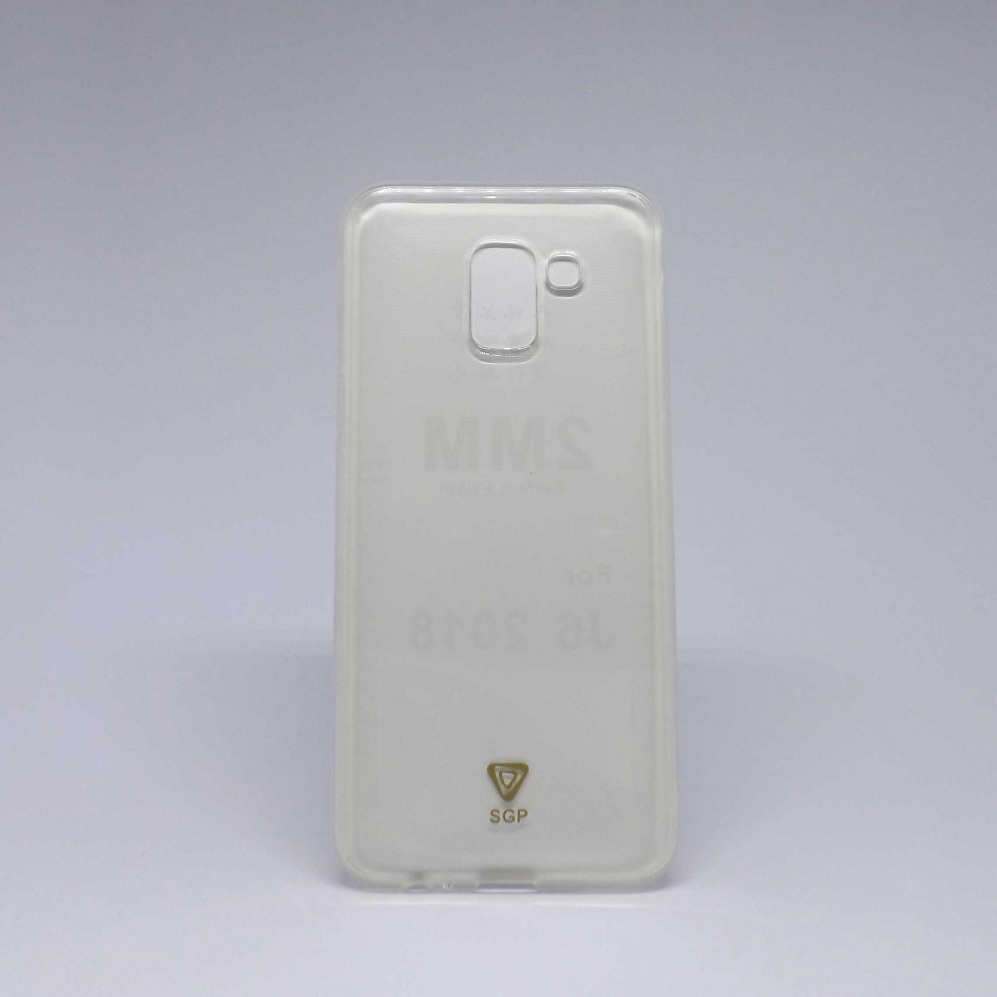 Capa Samsung Galaxy J8 Antiqueda Transparente