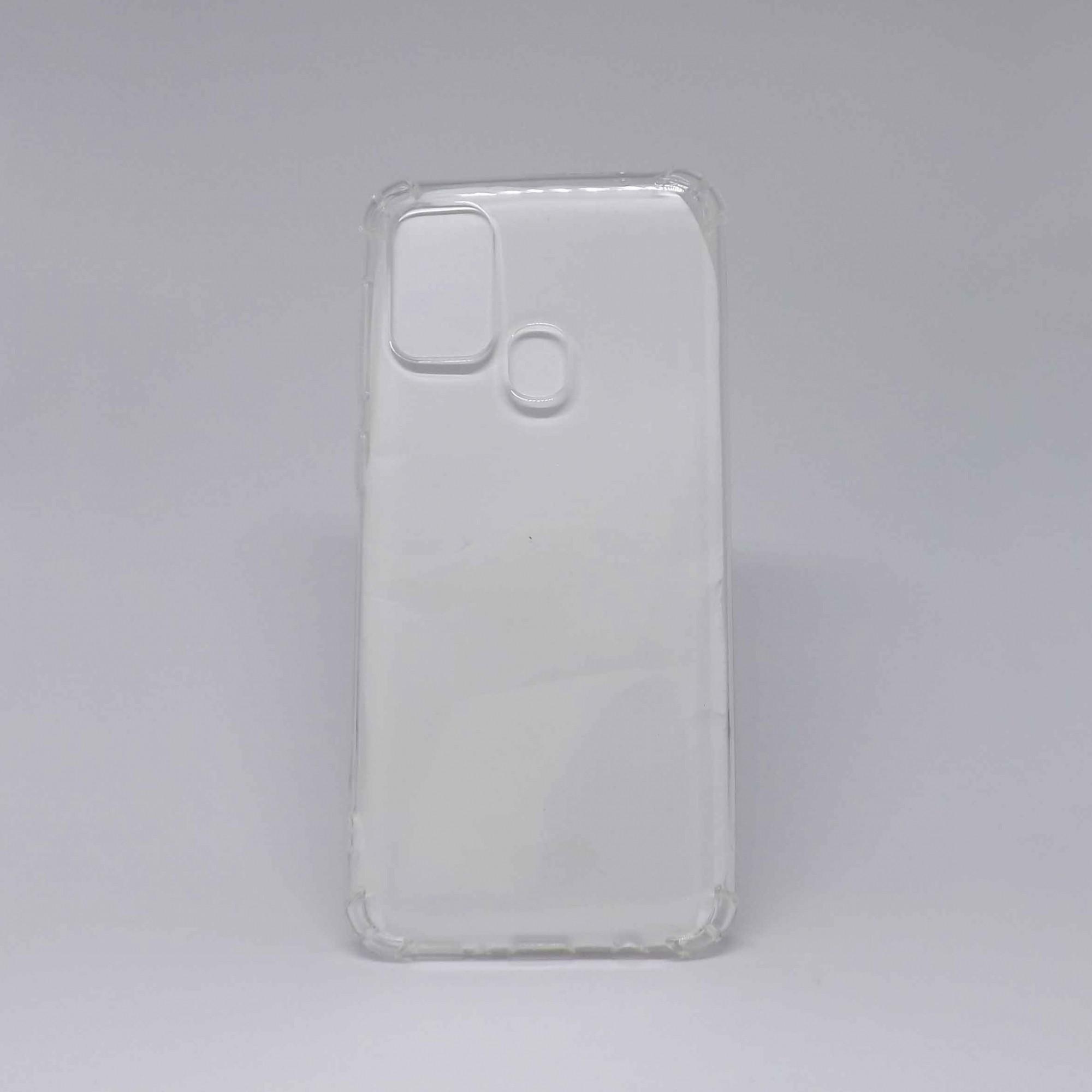 Capa Samsung Galaxy M31 Antiqueda Transparente