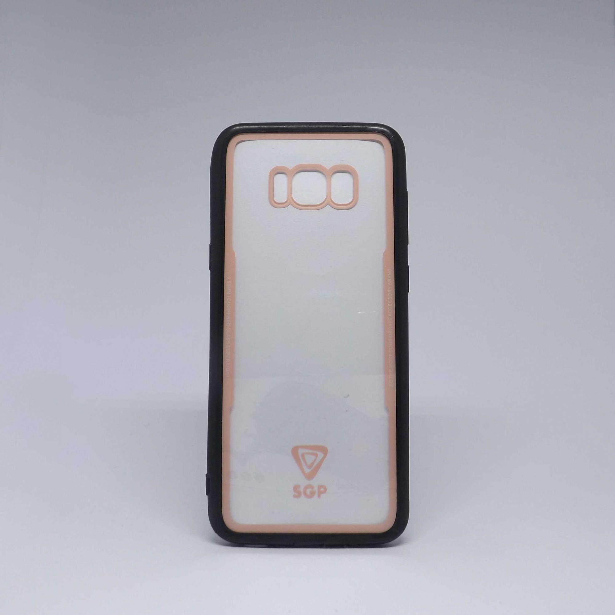 Capa Samsung Galaxy S8 Plus Transparente com Borda Colorida