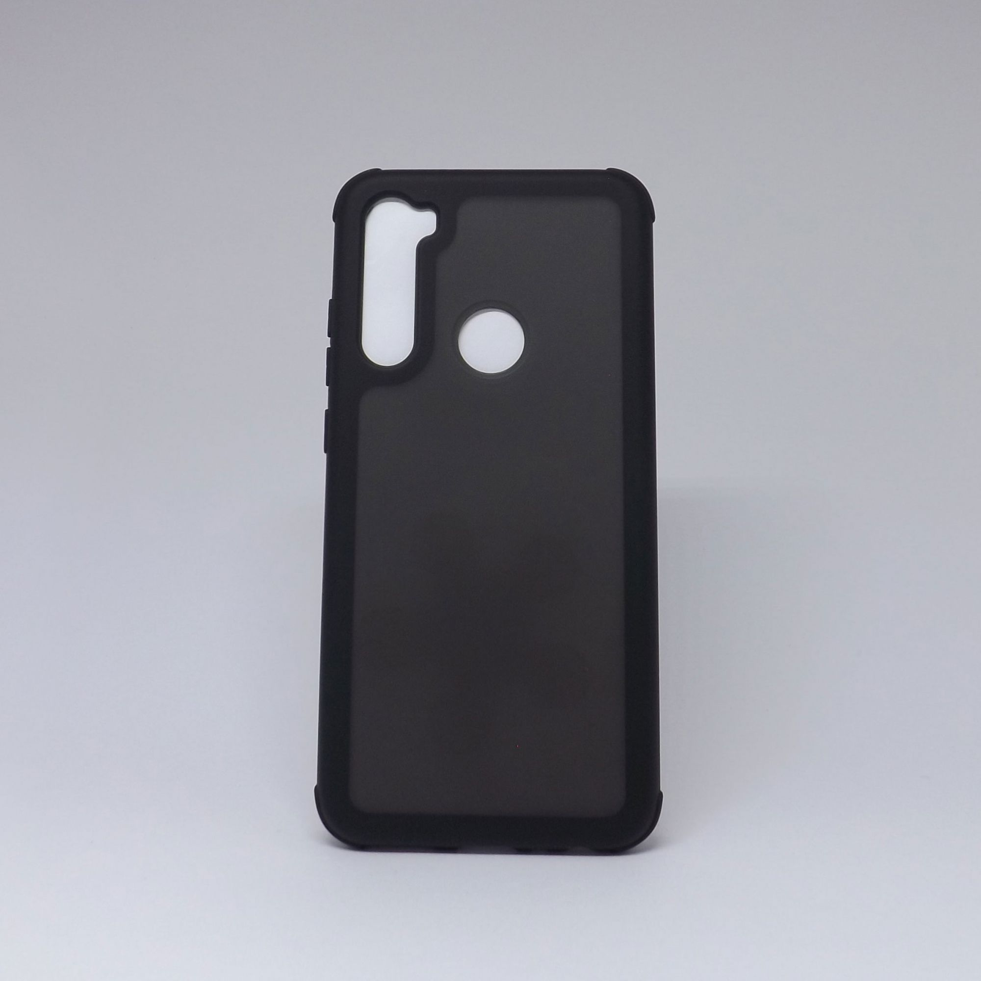 Capa Xiaomi Redmi Note 8 Fumê com Borda Colorida