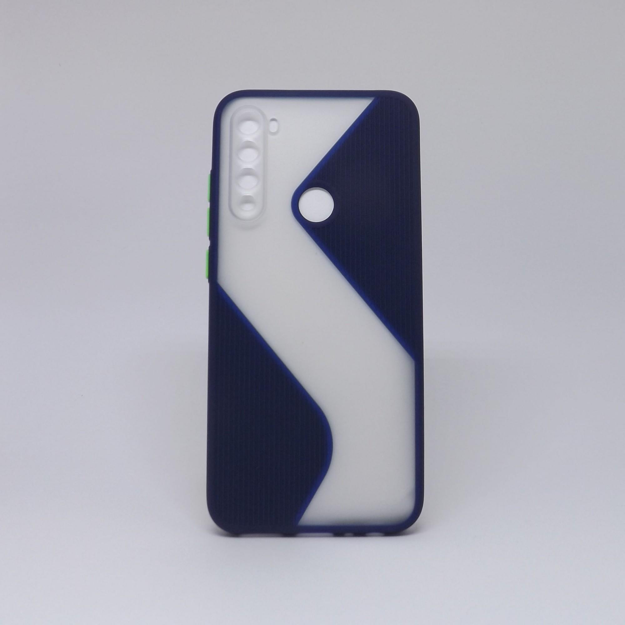 Capa Xiaomi Redmi Note 8 Transparente com Borda Colorida