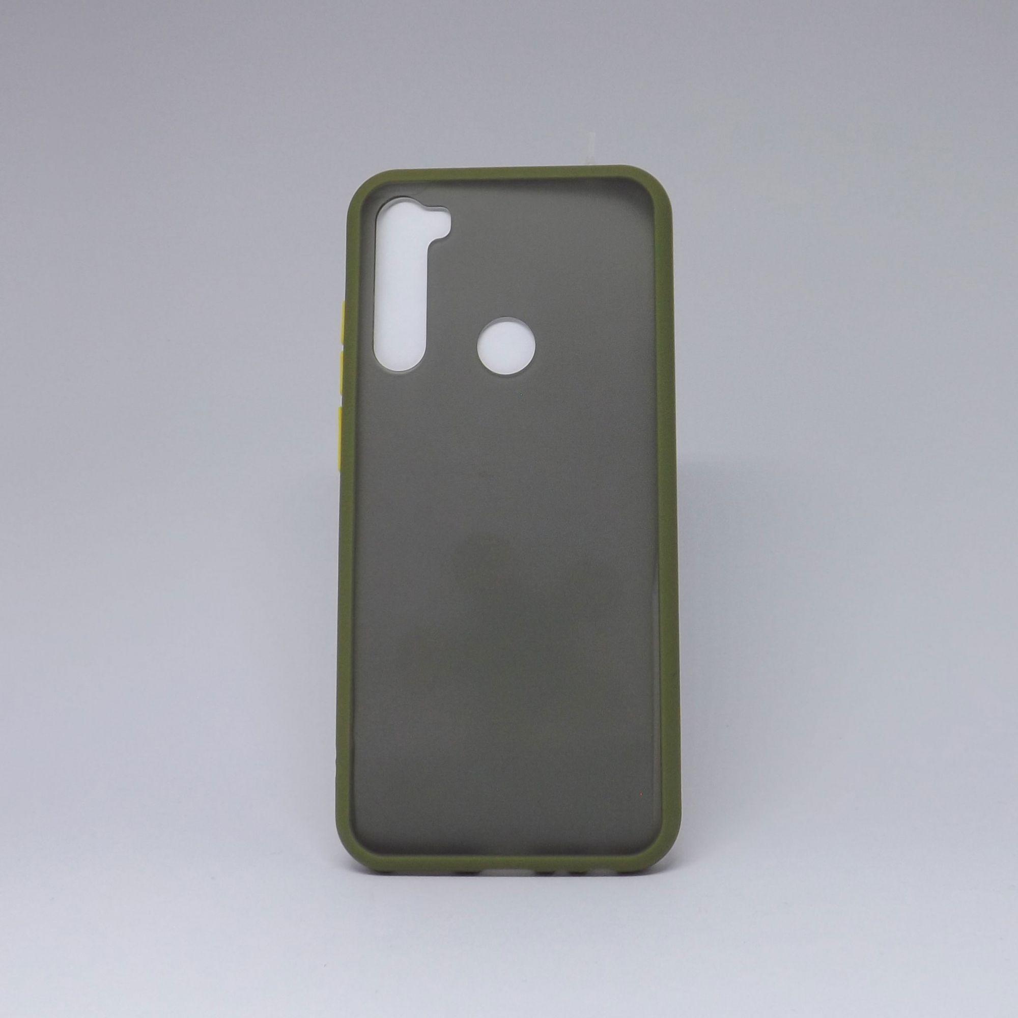 Capa Xiaomi Redmi Note 8T Fumê com Borda Colorida