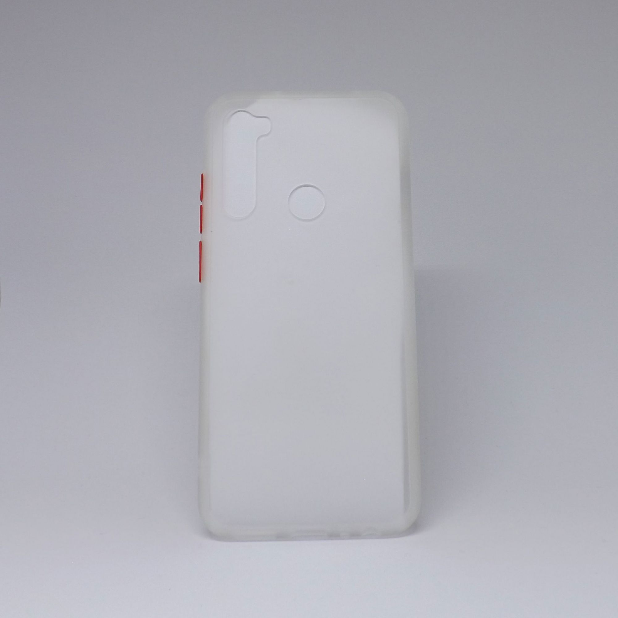 Capa Xiaomi Redmi Note 8T Transparente com Borda Colorida