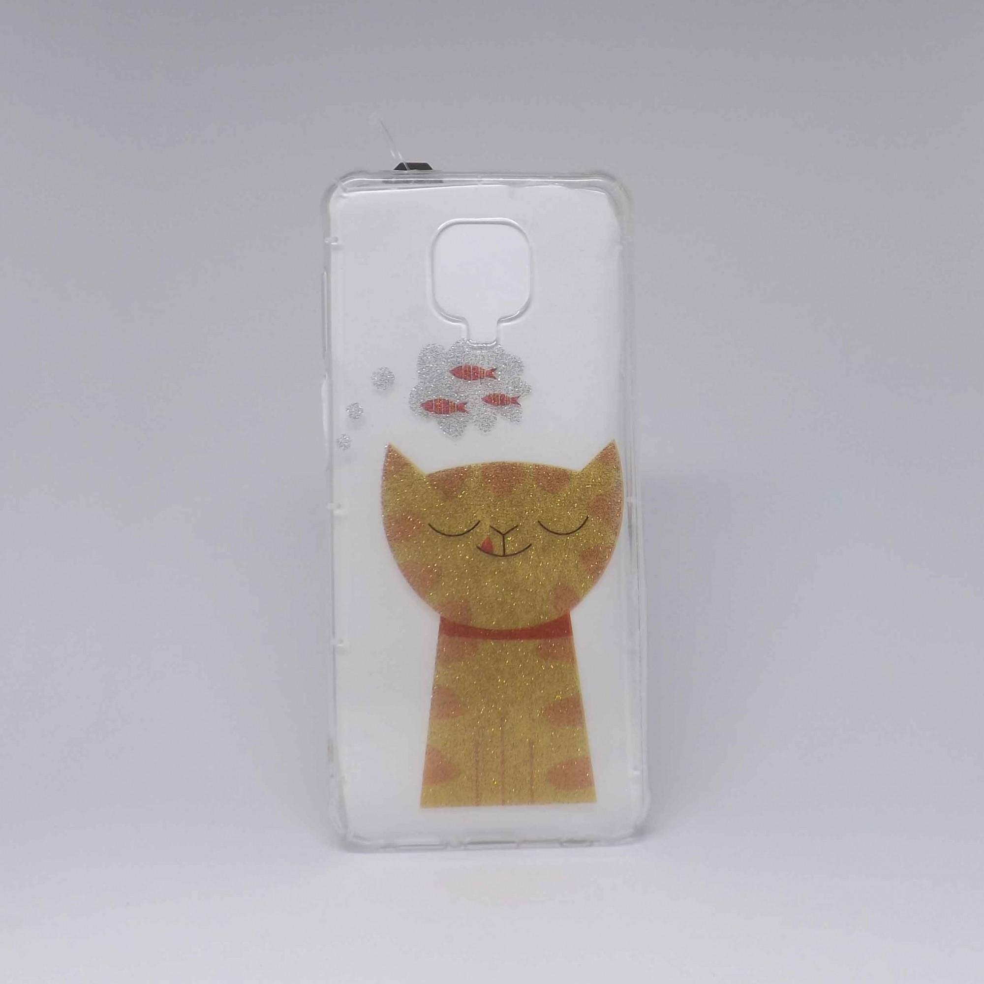 Capa Xiaomi Redmi Note 9s Antiqueda Transparente Estampada
