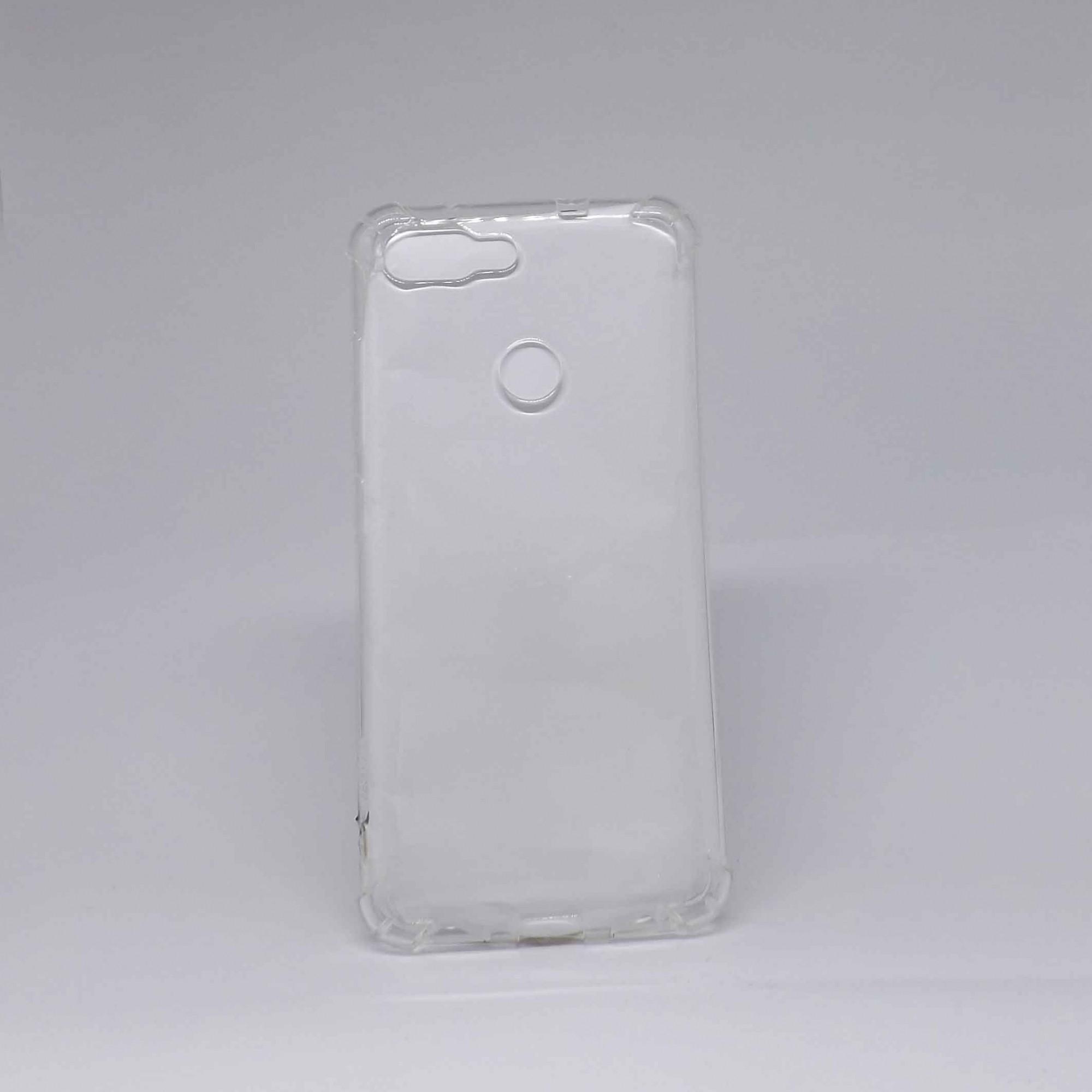 Capa Zenfone Max Plus ZB570 Antiqueda Transparente