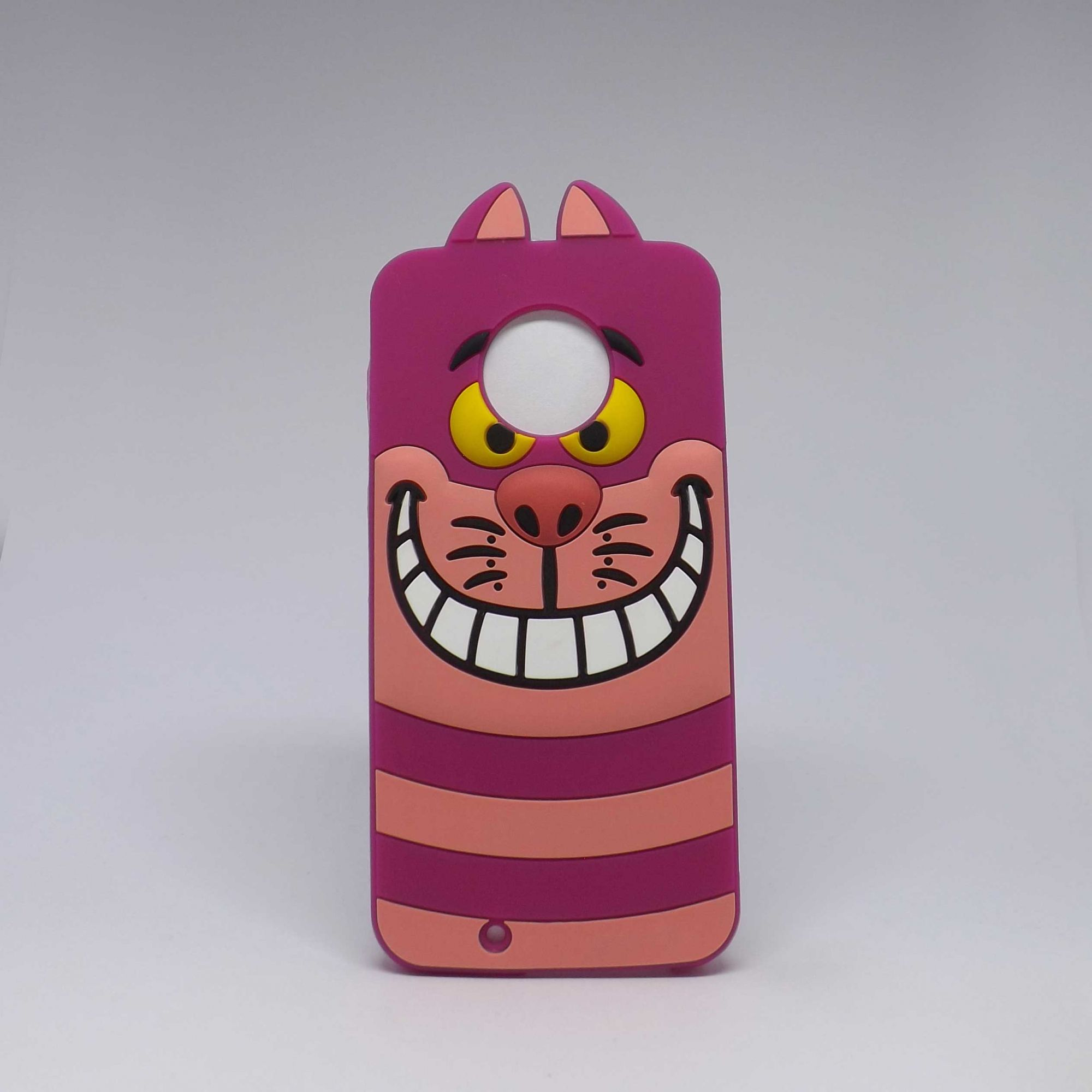 Capa Motorola G6 Personagens - Gato Risonho