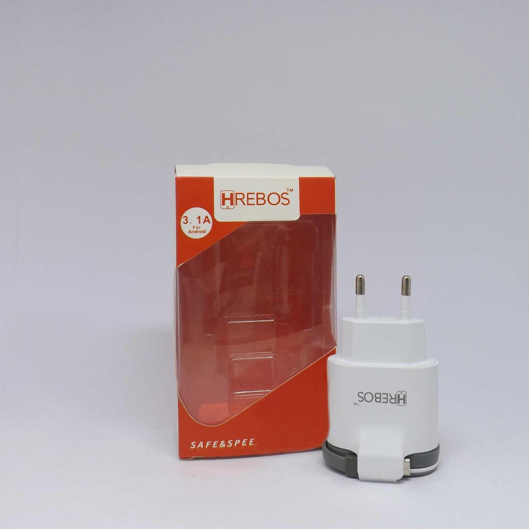 Fonte Turbo HRebos Entrada Dupla + Cabo Micro Usb