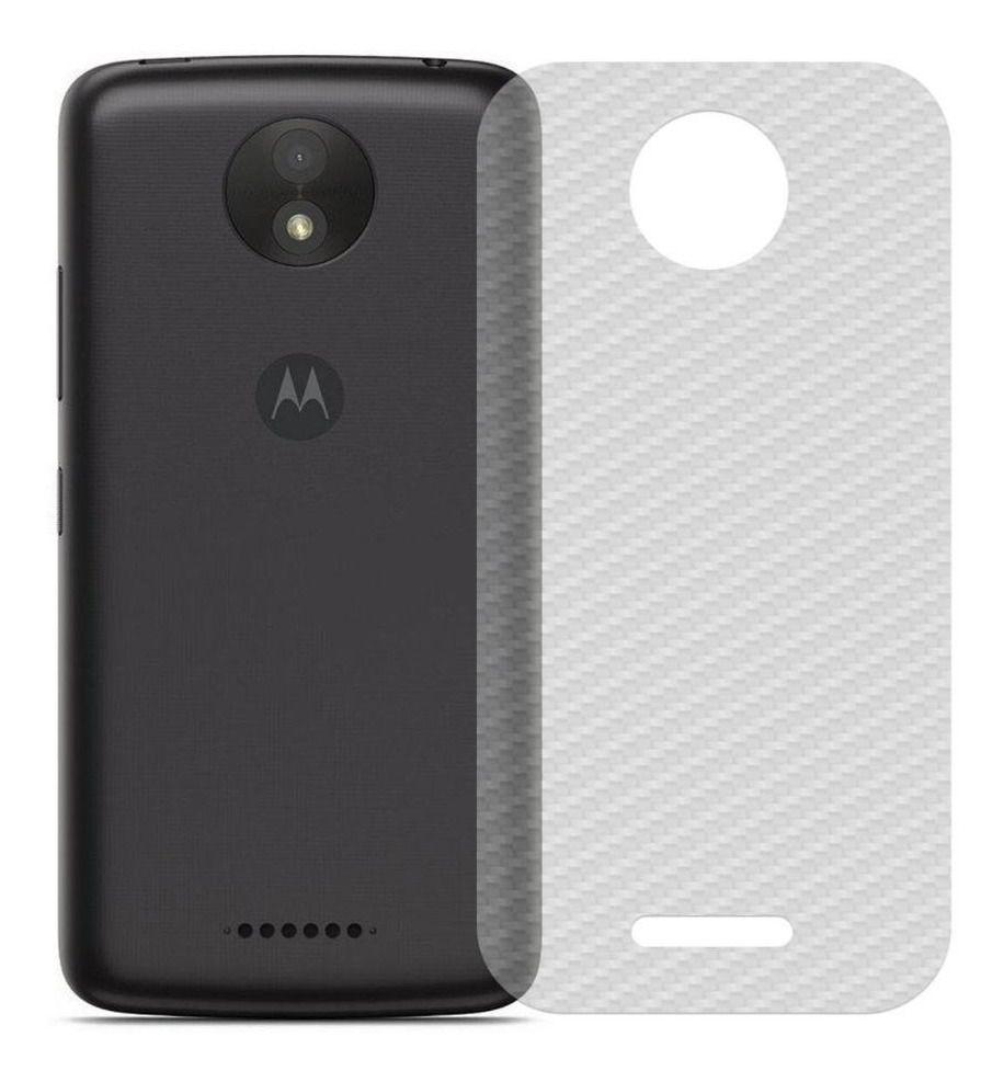 Película de Carbono Traseira Motorola C